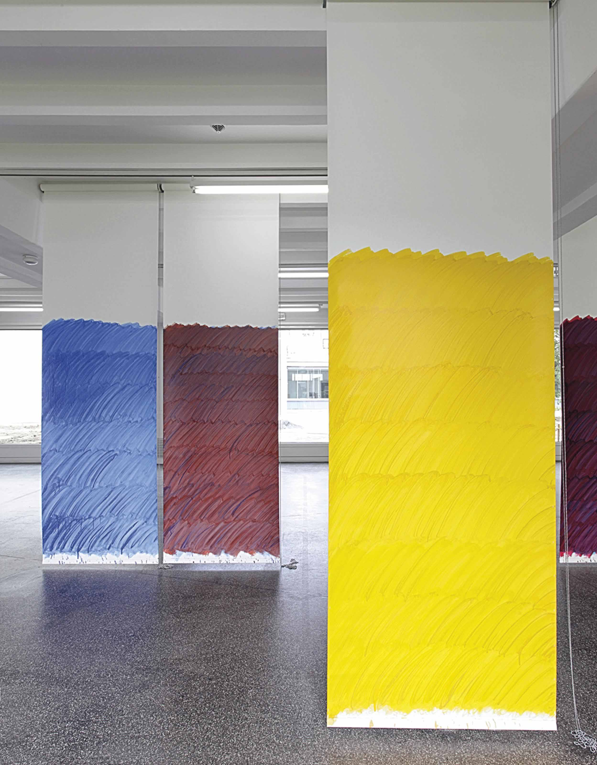 Blind No. 12 Fifteen-Foot Ceiling or Lower (Cobalt Blue/Red/Naples Yellow Hue/Diarylide Yellow)