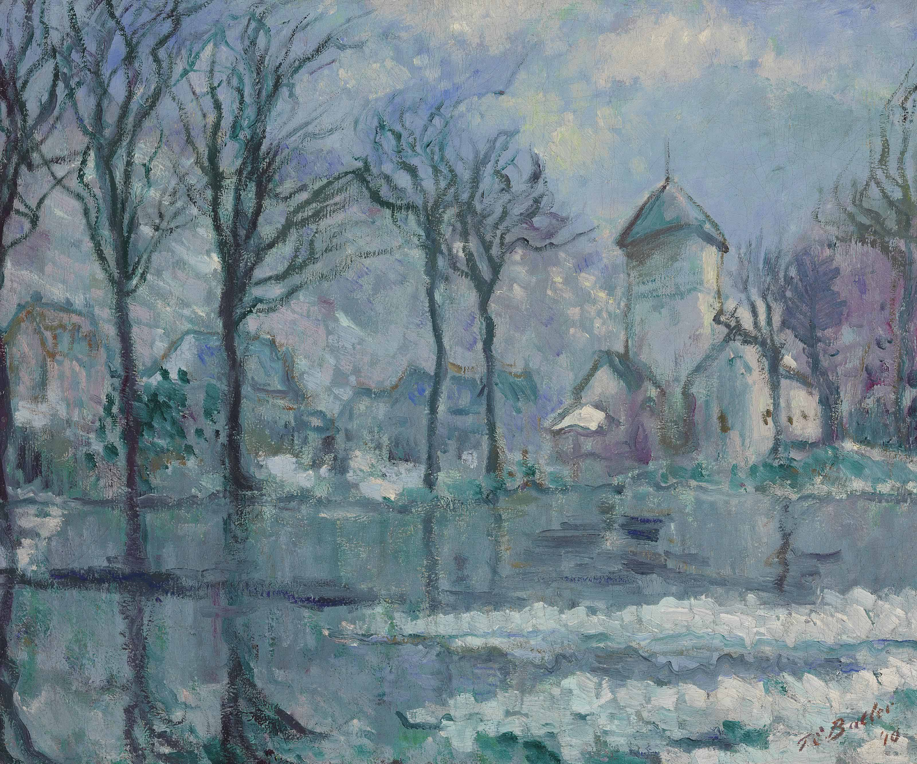The Mill in the Flood, Giverny