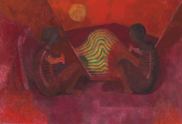 Rufino tamayo mexican 1899 1991 dialogue christie 39 s for Mural rufino tamayo