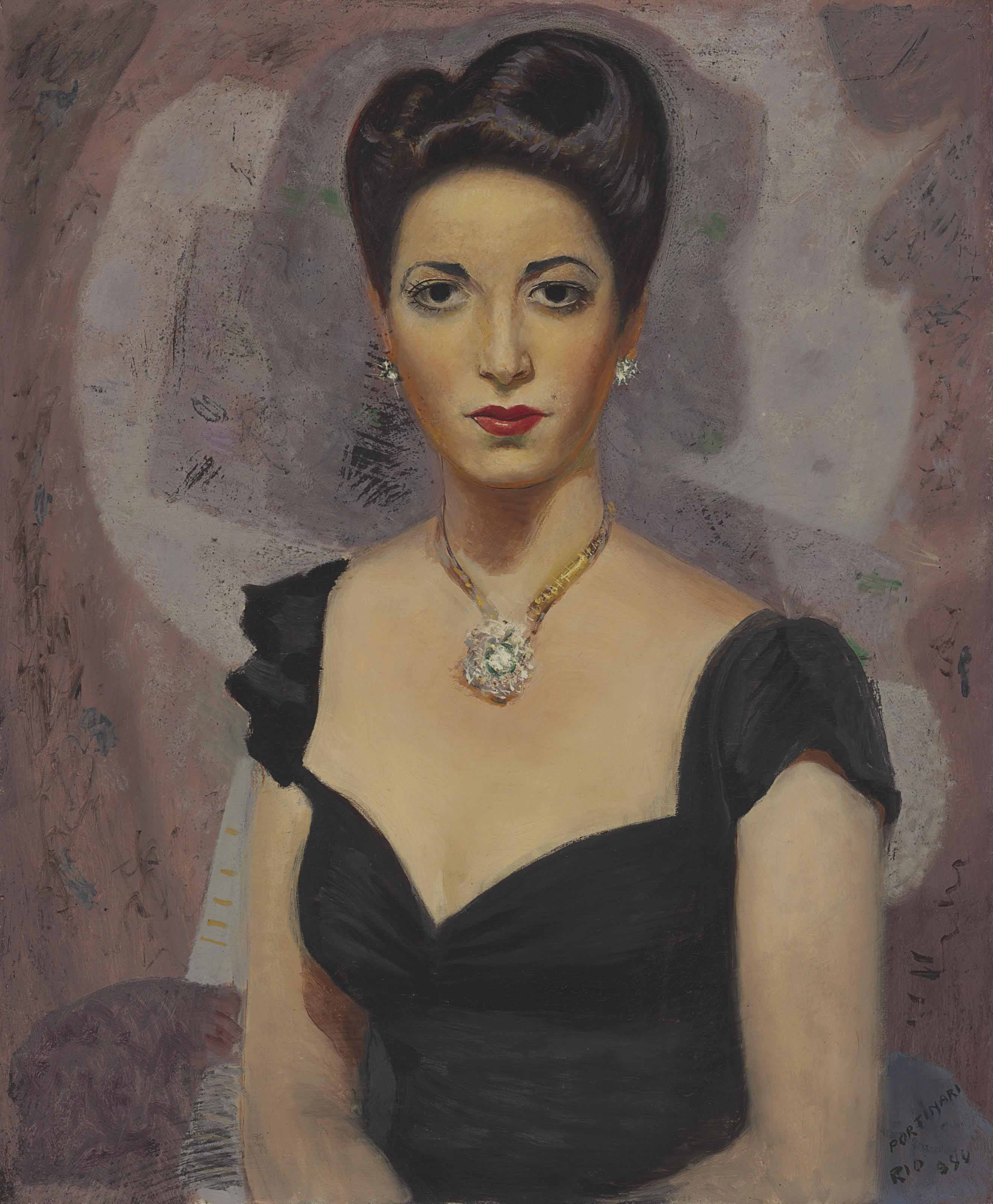 Portrait of Fina Gómez
