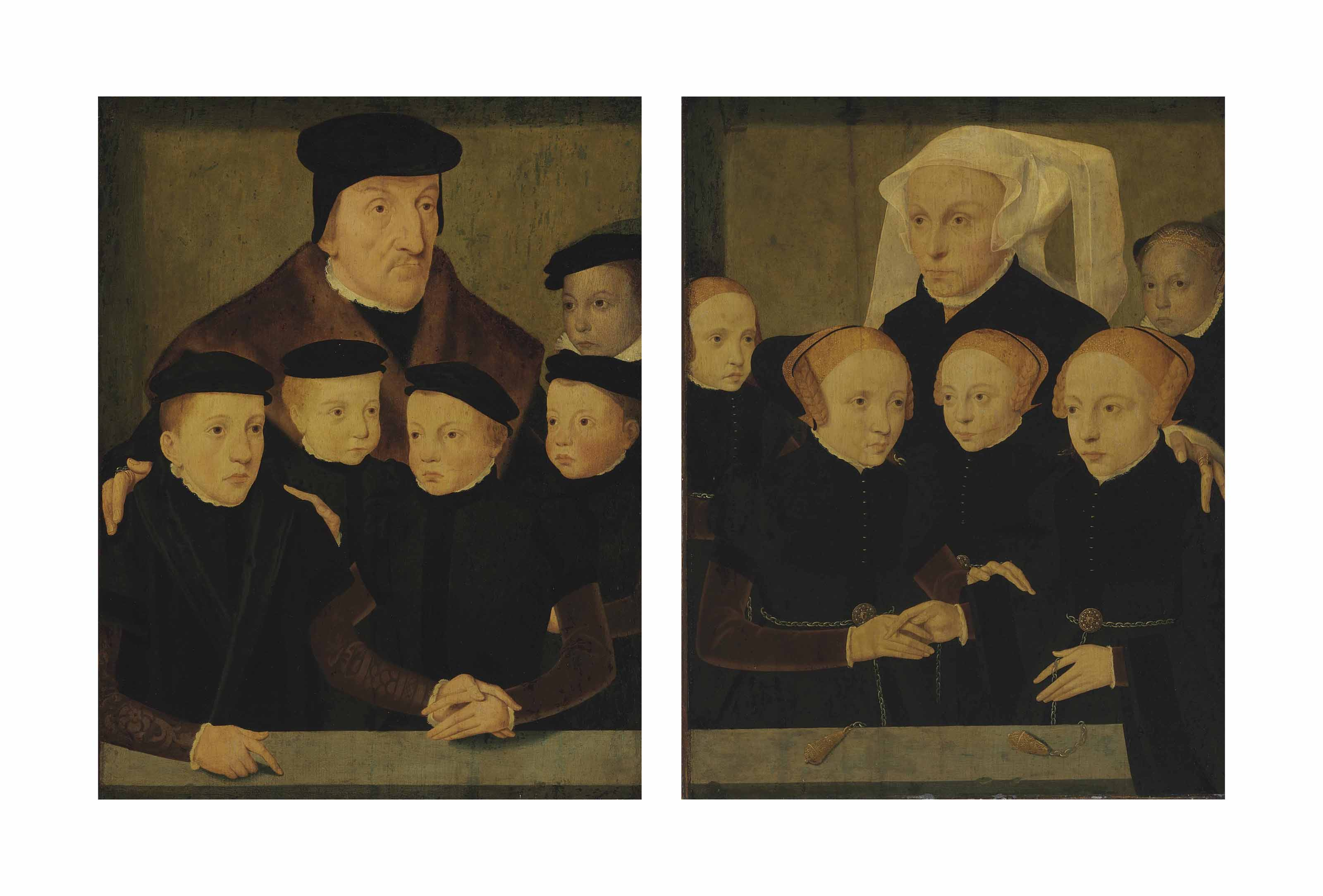 Father and Sons; and Mother and Daughters