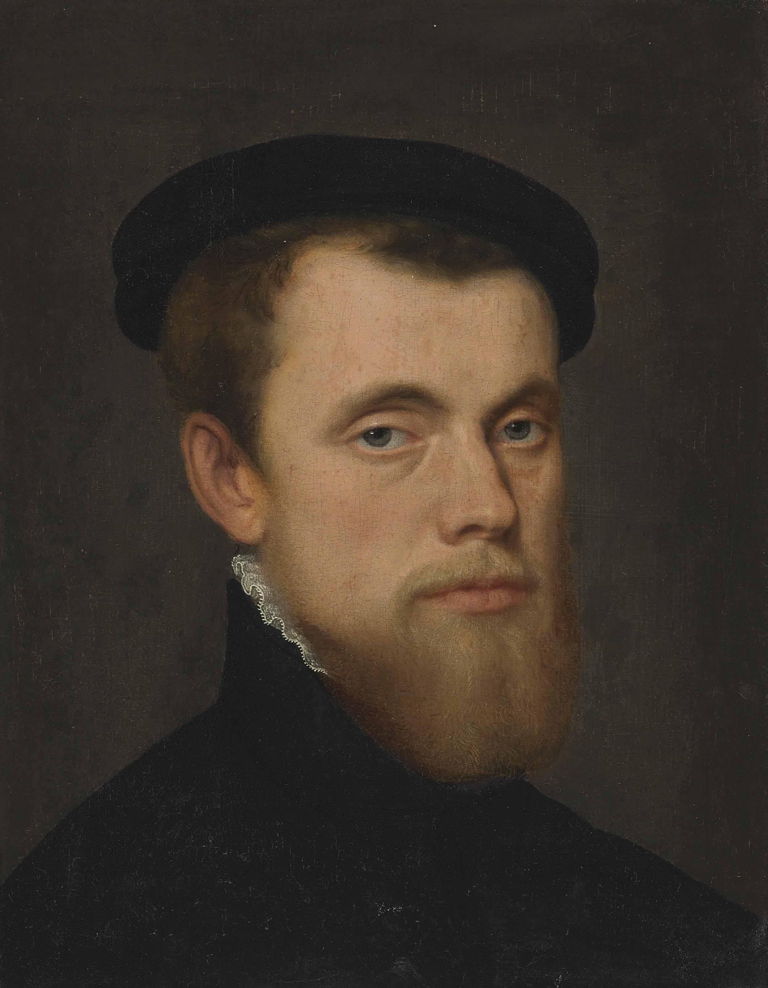 Portrait of a gentleman, bust-length