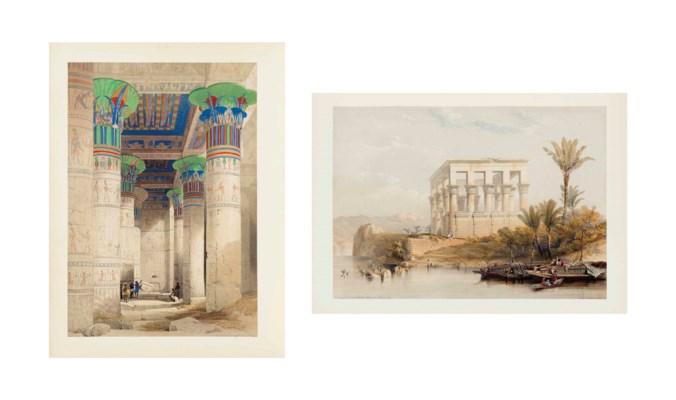 ROBERTS, David. Egypt and Nubi