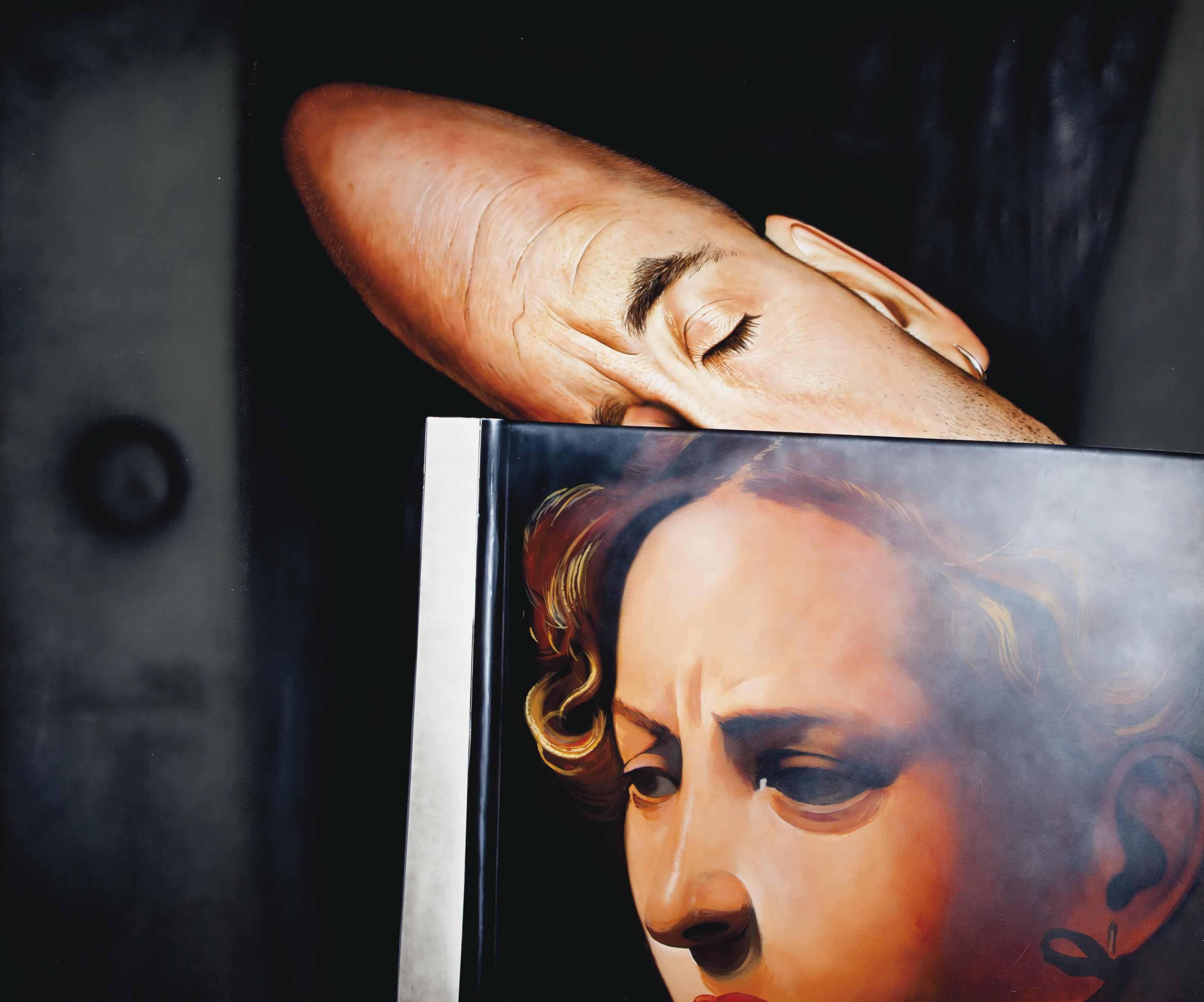 Caravaggio's head