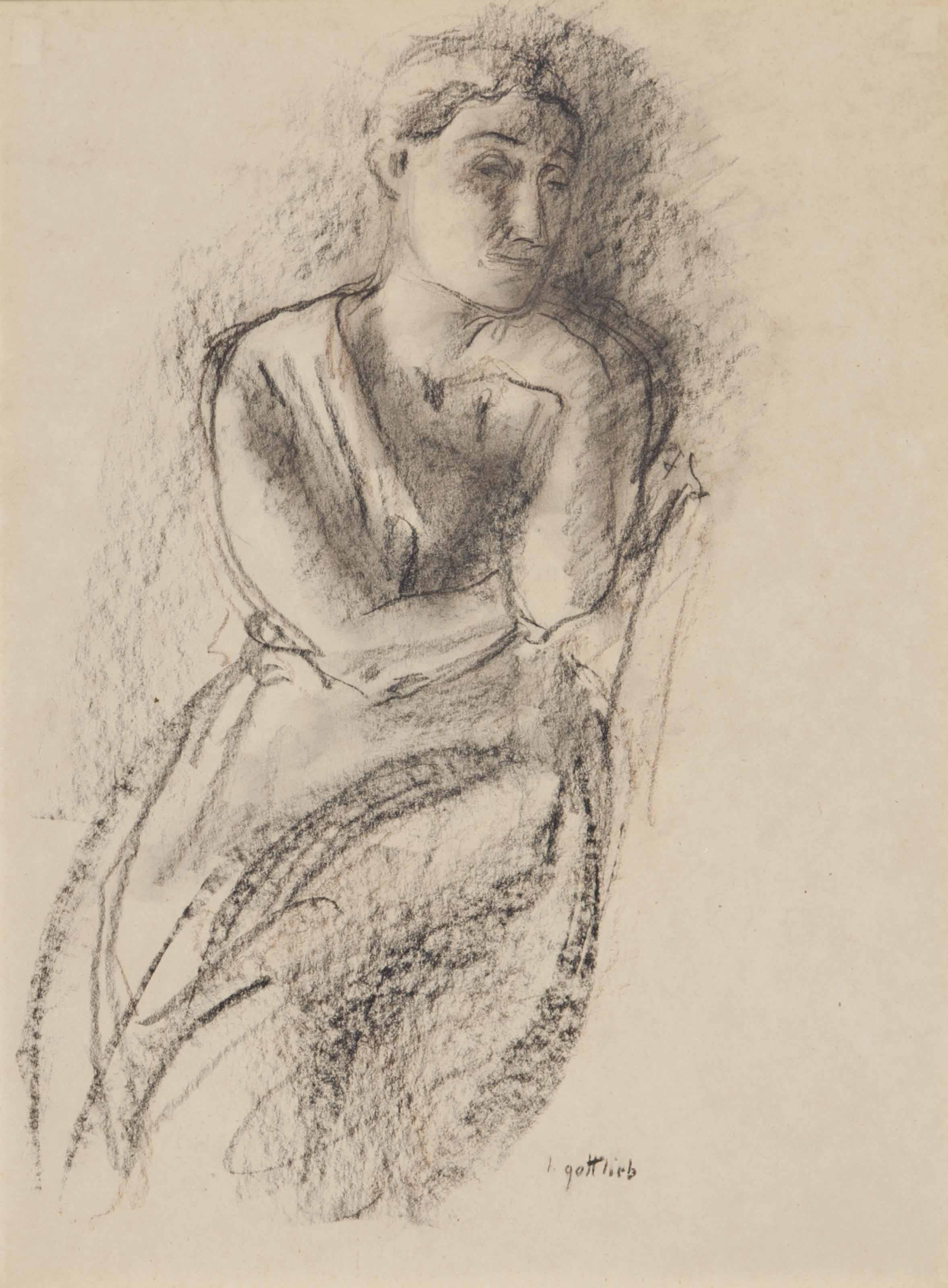 Untitled (study of a woman)