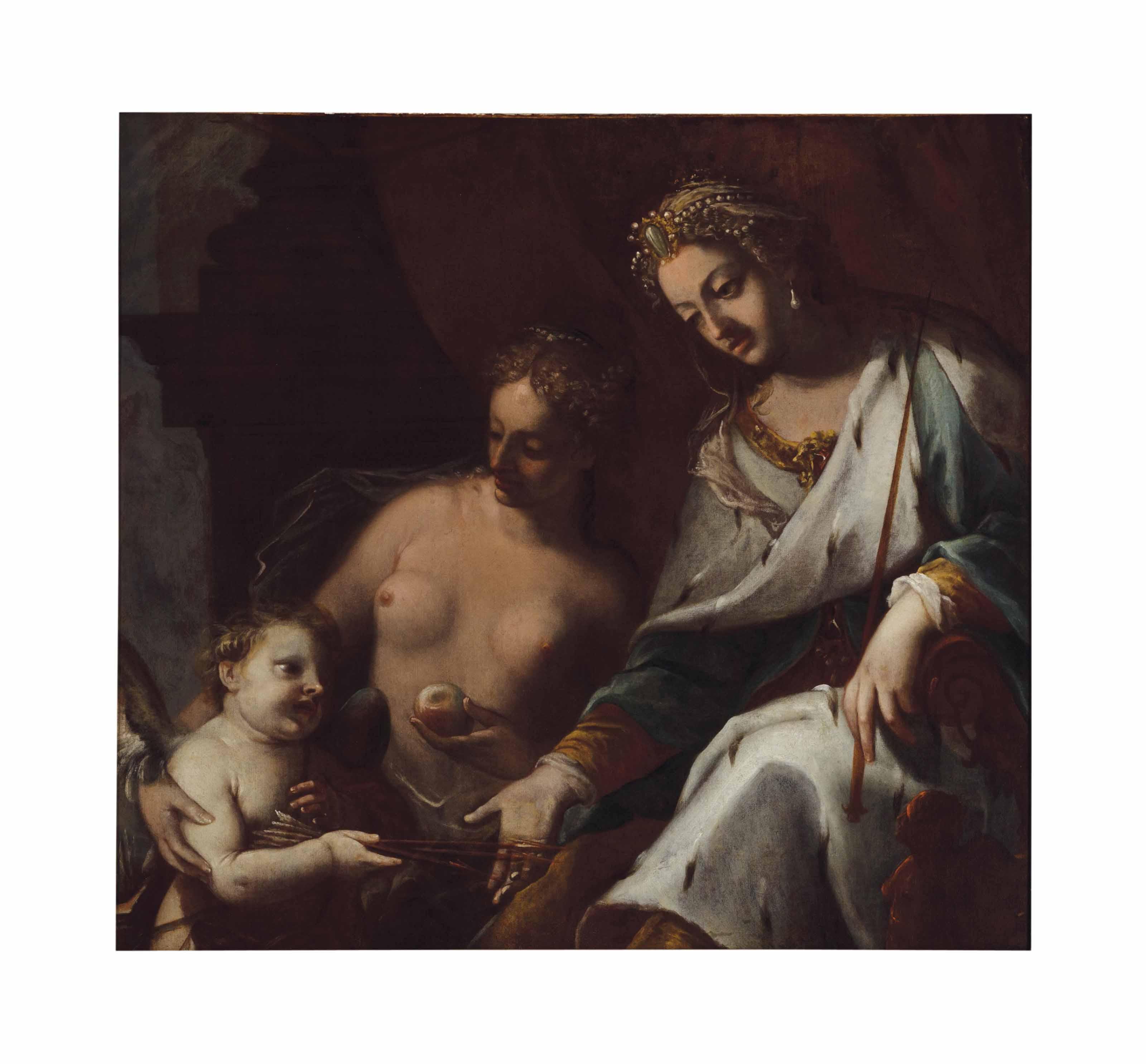 Venus, Juno and Cupid