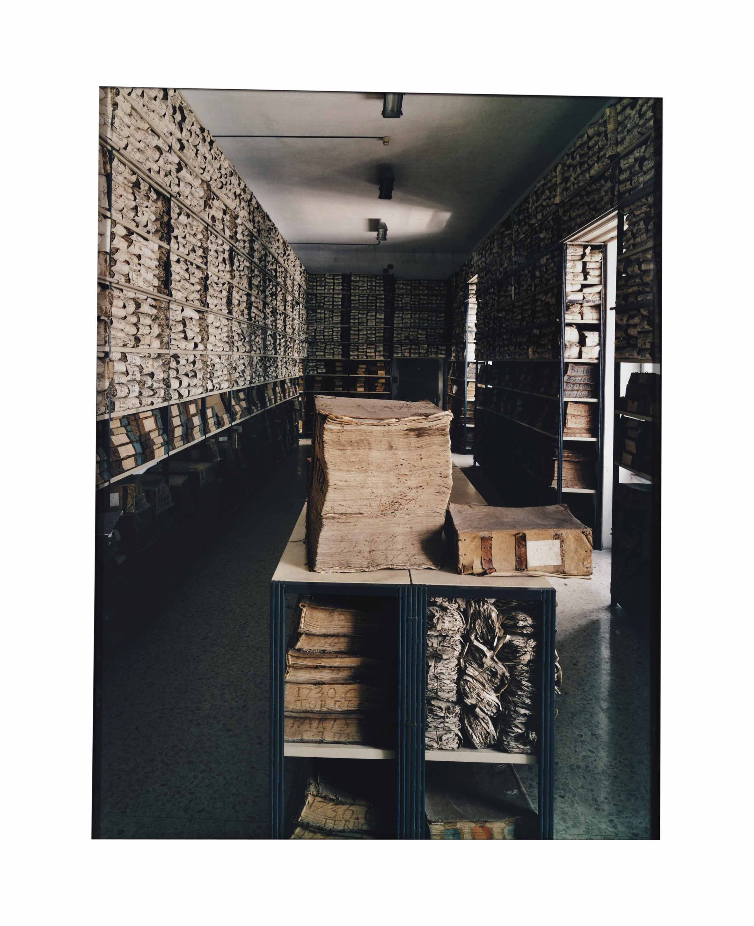 Archive of the Bank of Venice, 17th and 18th Century Room, 1997
