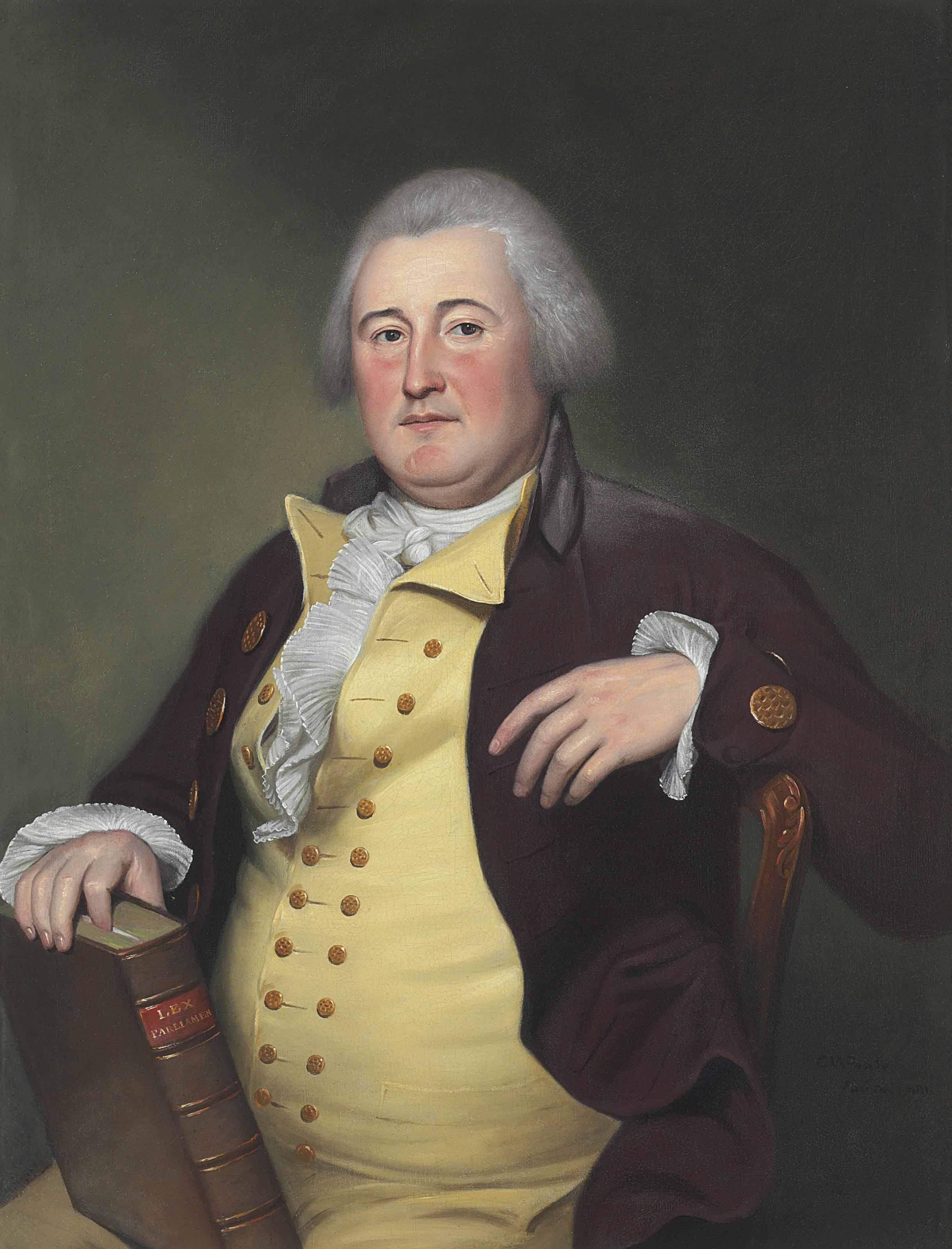 Portrait of a Gentleman, possibly Judge John Berrien