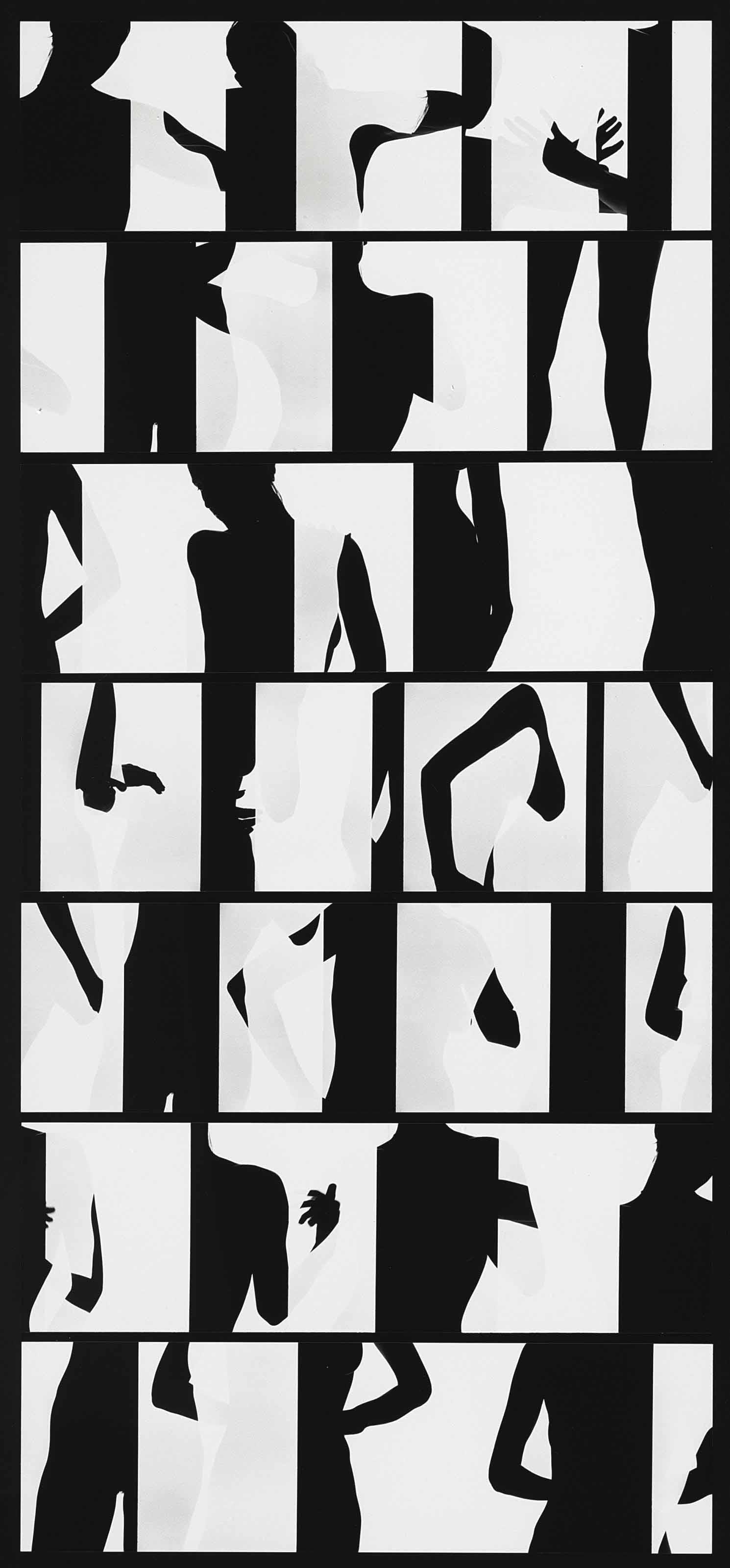 Nude Composite: Philadelphia, 1966