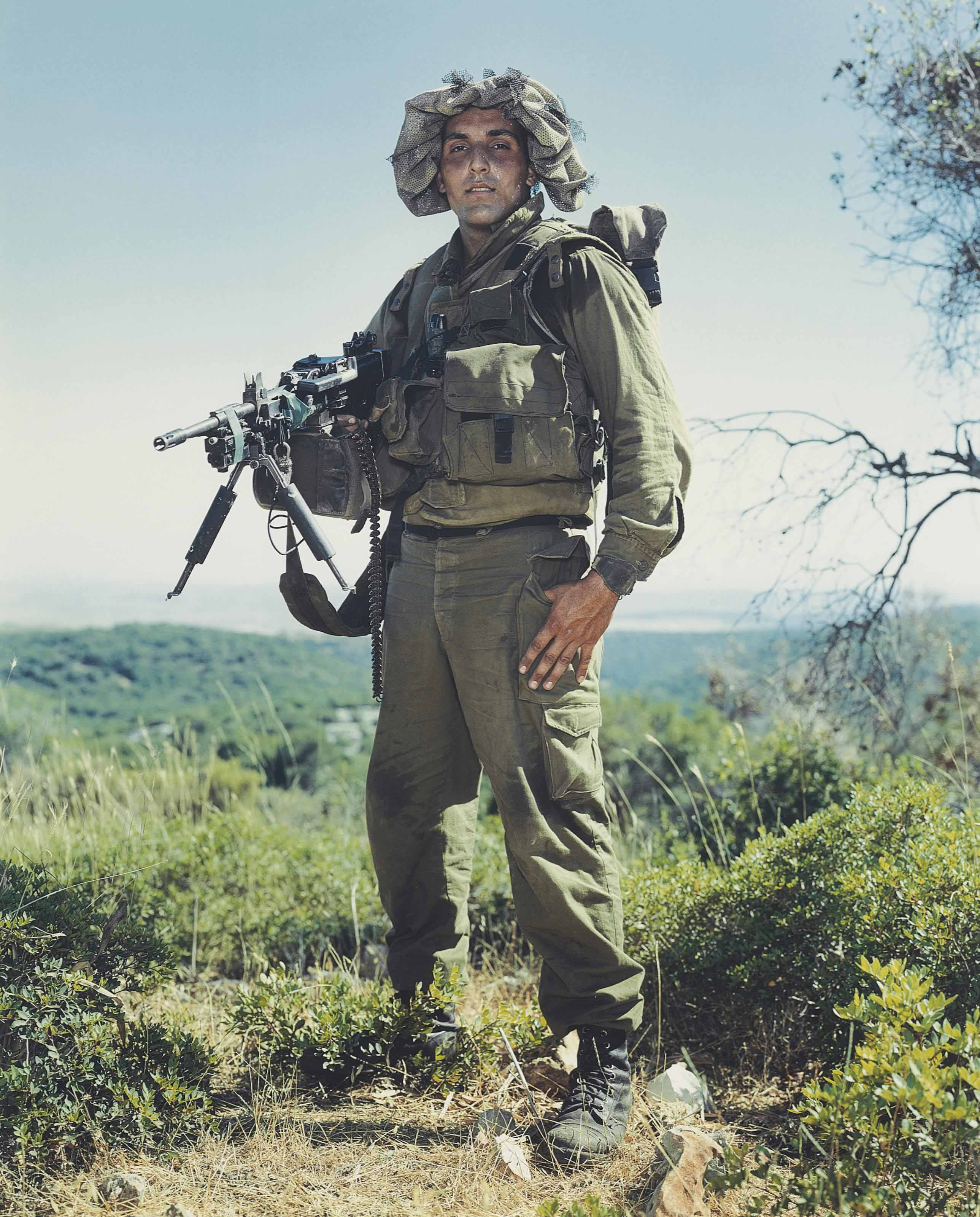 Erez, Golani Brigade, Elyacim, Israel, May 26, 1999