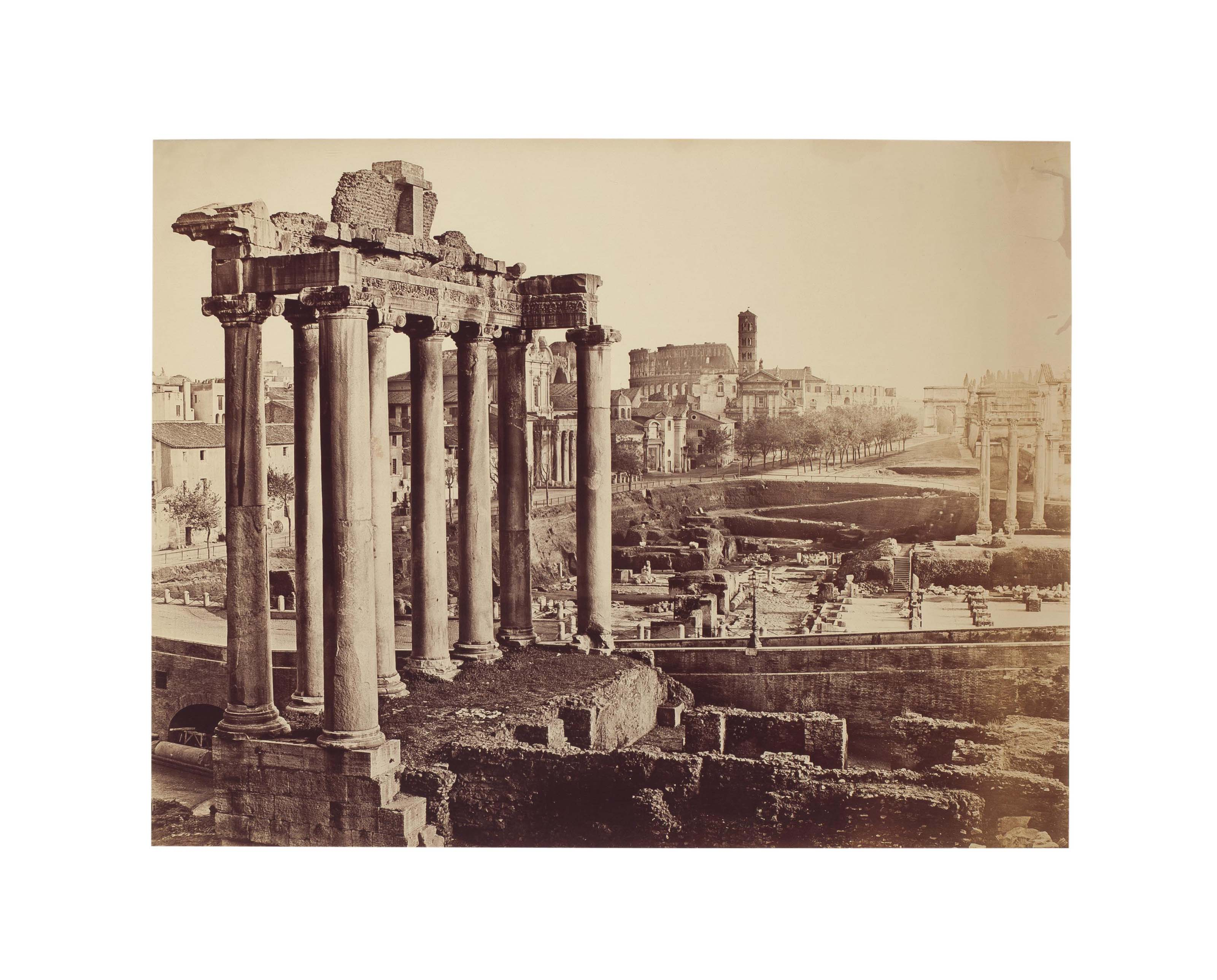 View of the Forum, Rome, c. 1860