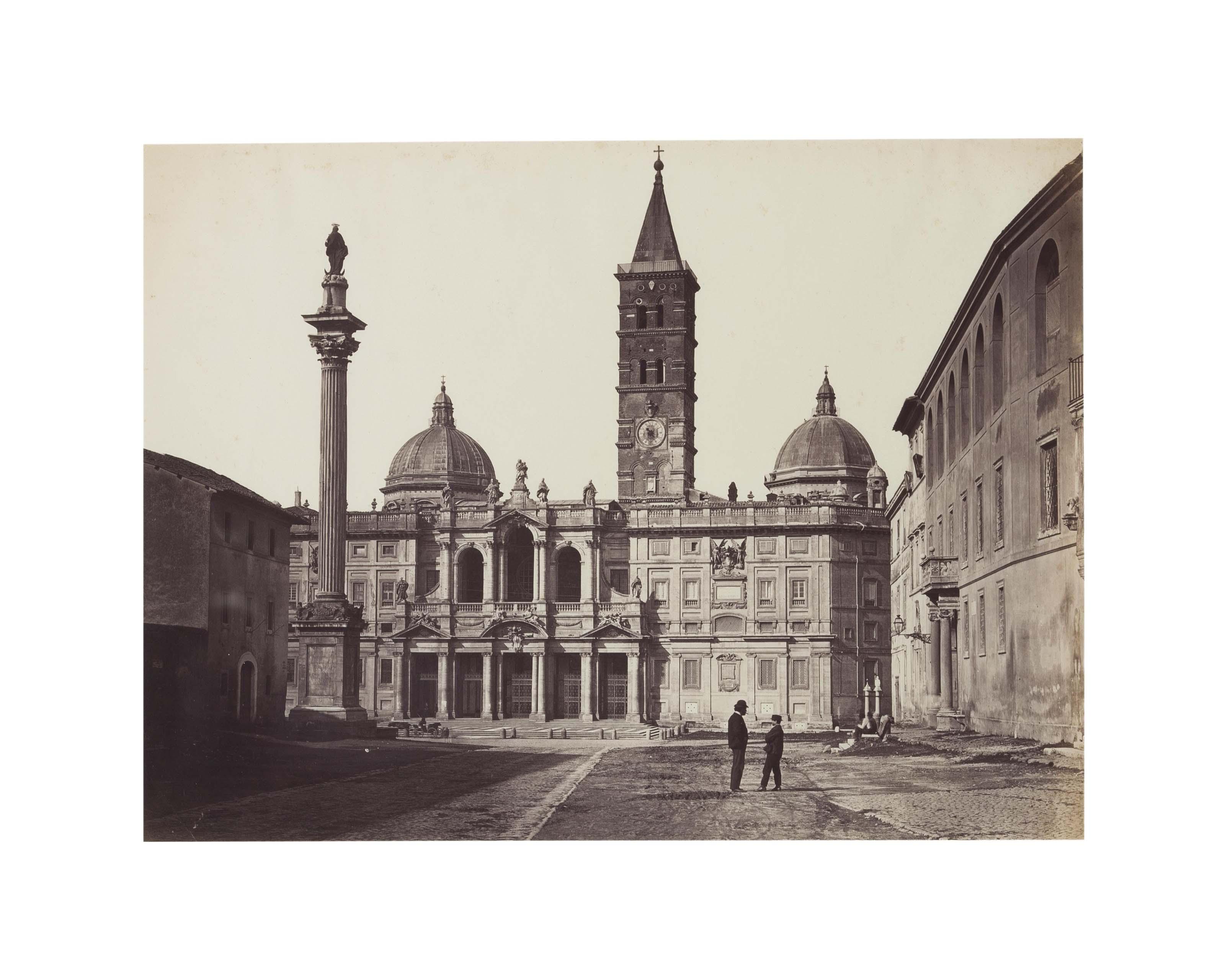 Santa Maria Maggiore, Rome, c. 1865