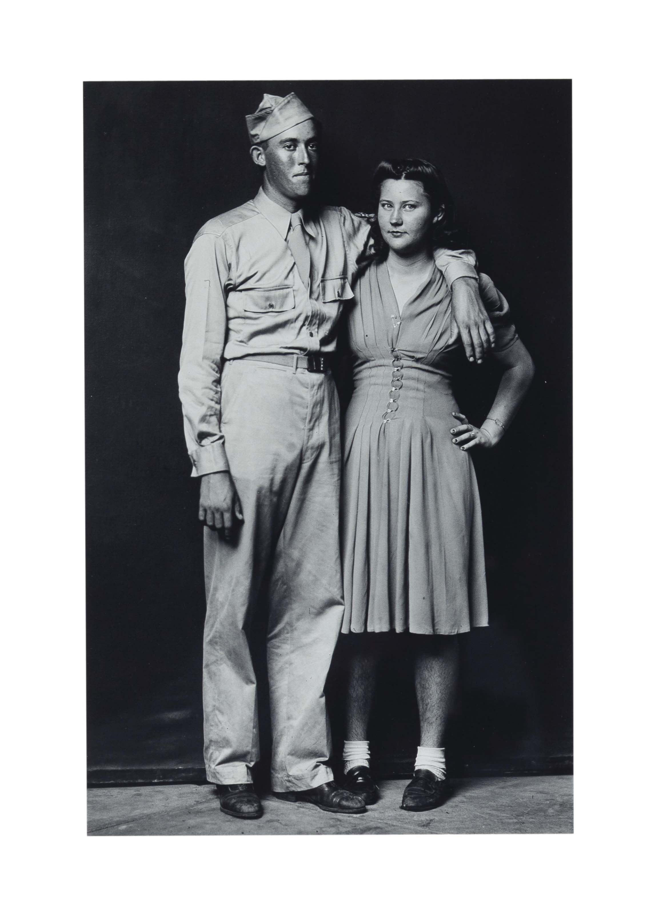 Young Couple, c. 1940