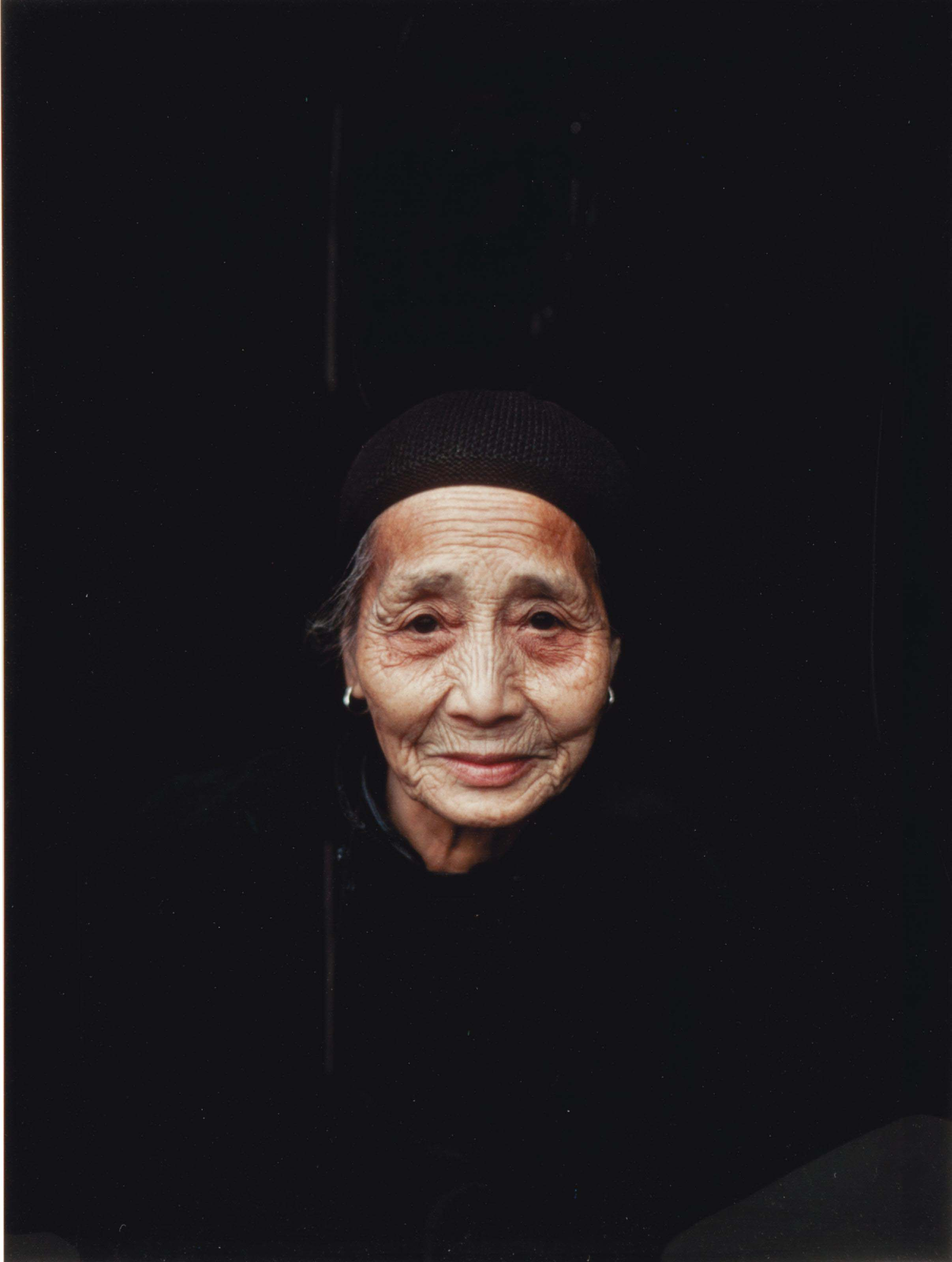 Retired worker, Guelin China, 1979