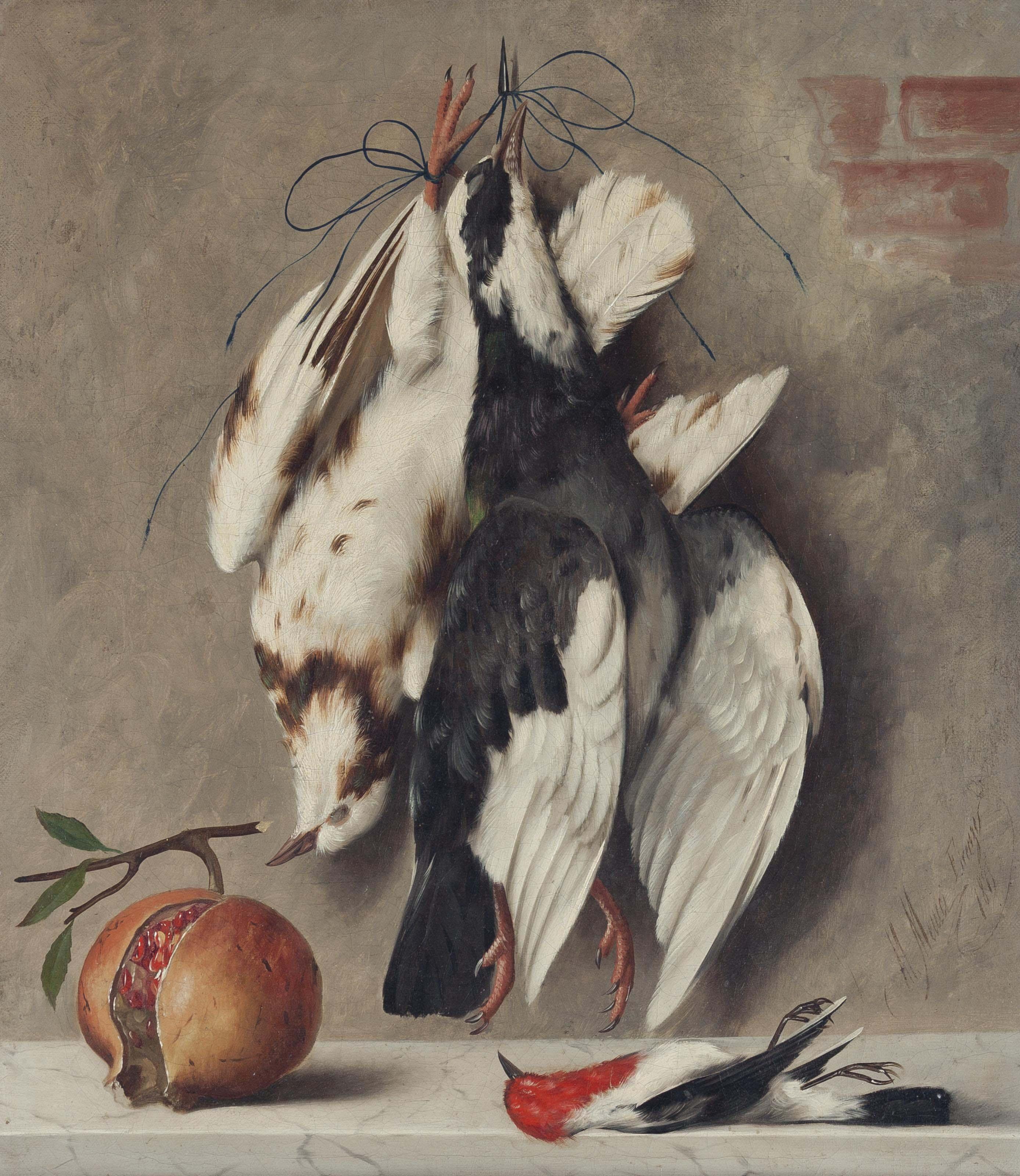 Natura morta; and a companion painting
