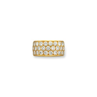 A DIAMOND AND GOLD ETERNITY BA