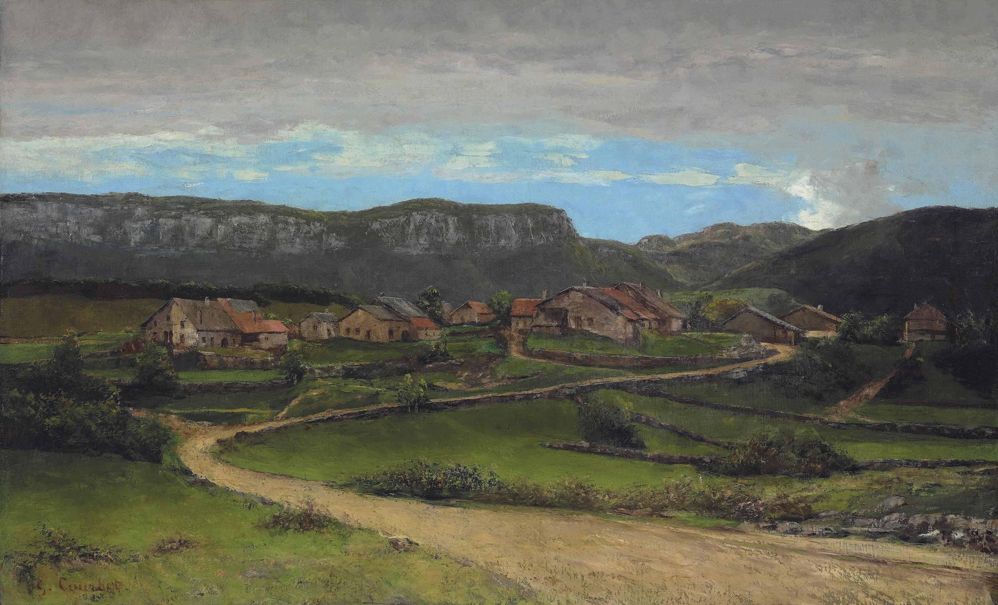 Paysage près d'Ornans