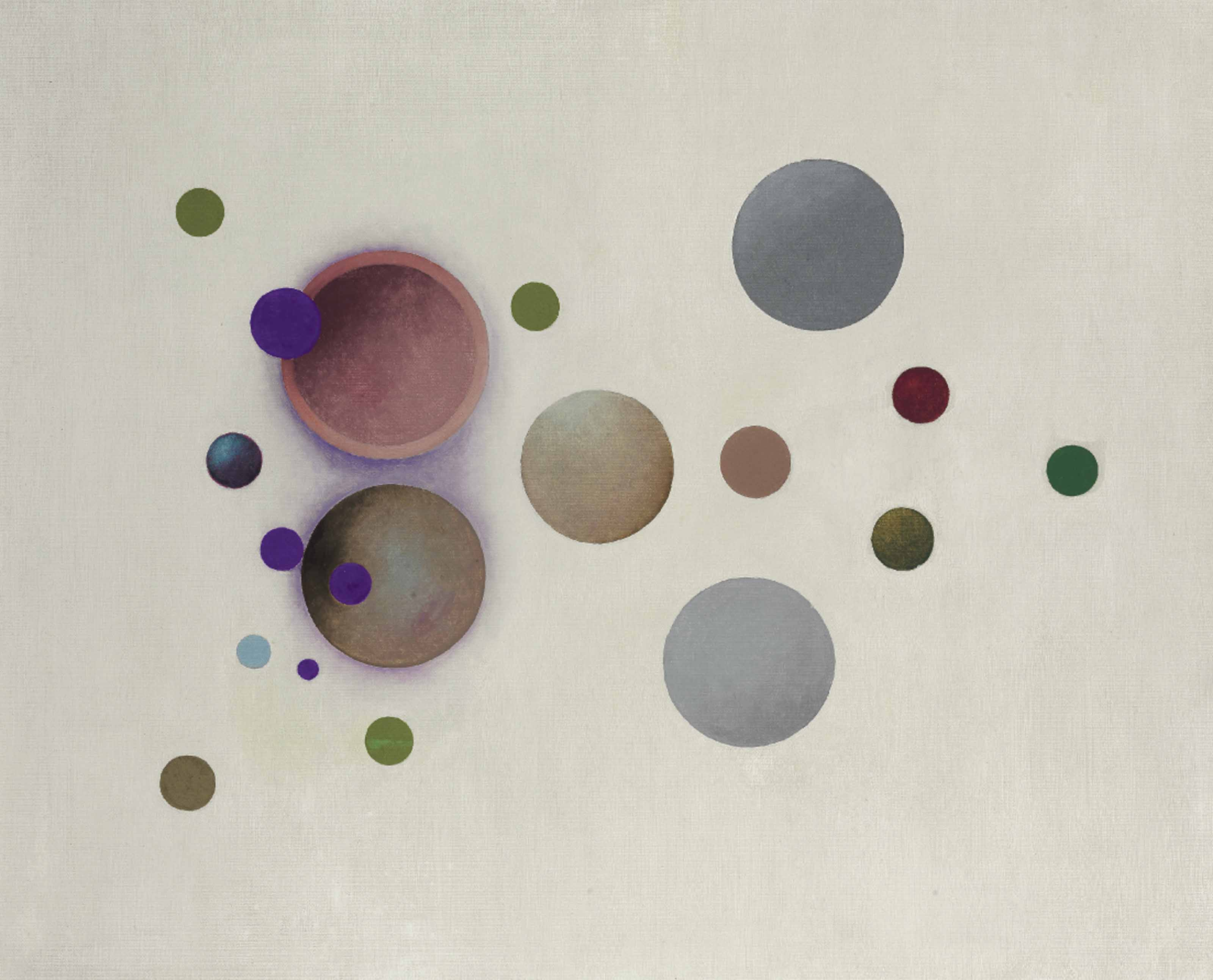 Untitled (Purple Accent Variation 2)
