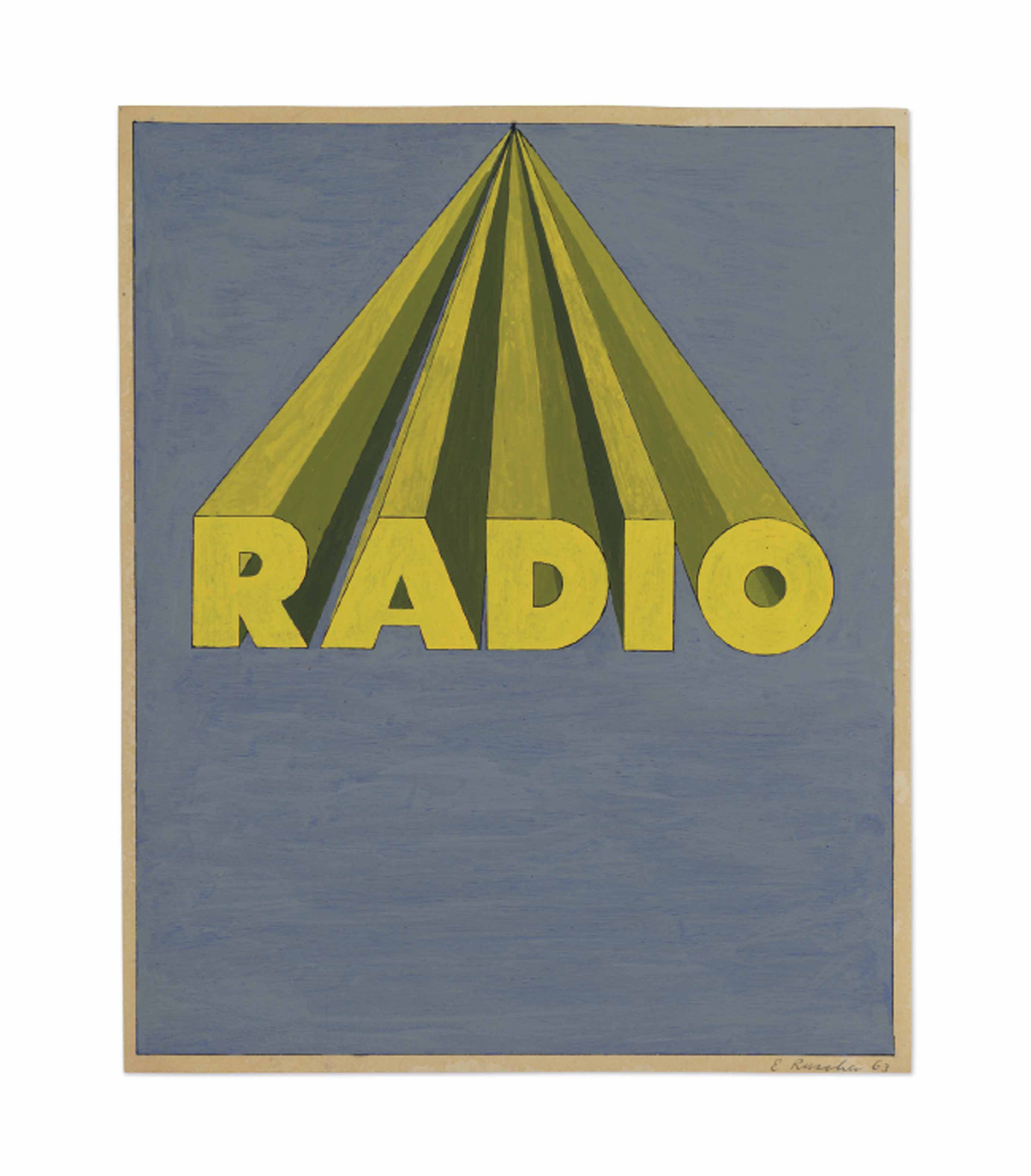Radio on Royal Blue