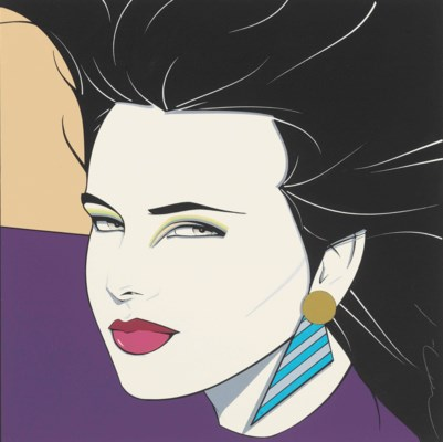 Patrick Nagel 1945 1984 Untitled Christie 39 S