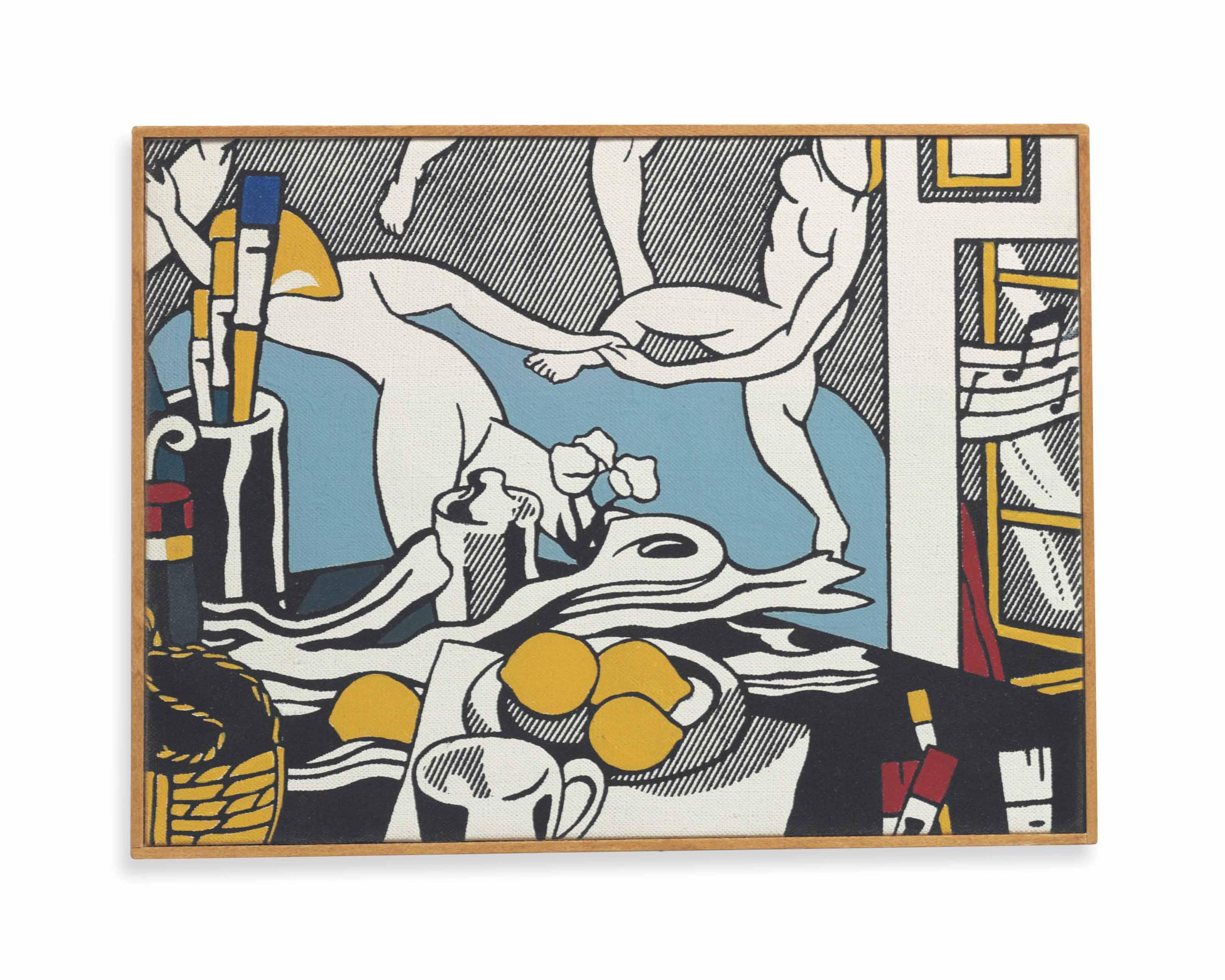 Lichtenstein, The Artist's Studio: The Dance, 1974