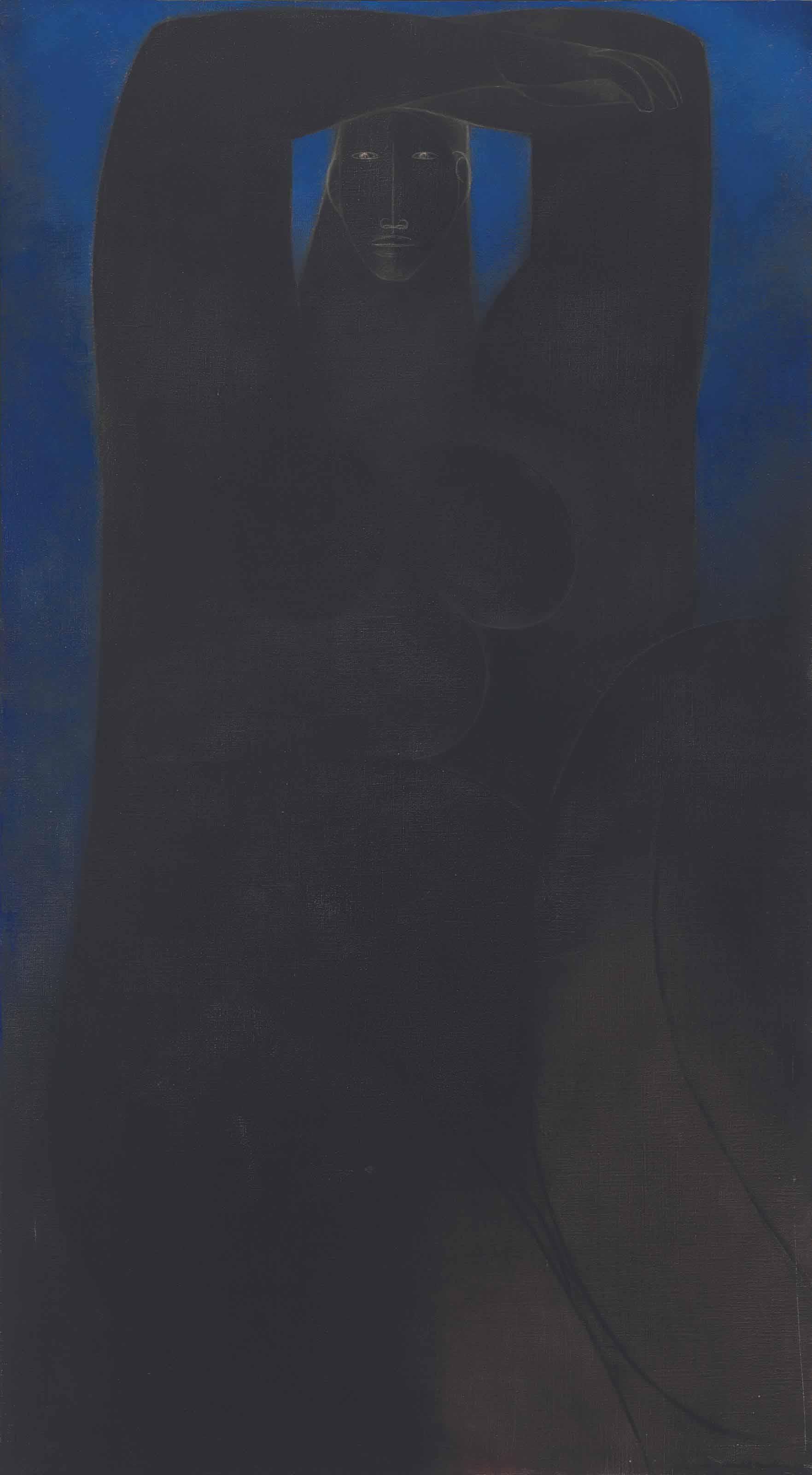 Desnudo azul