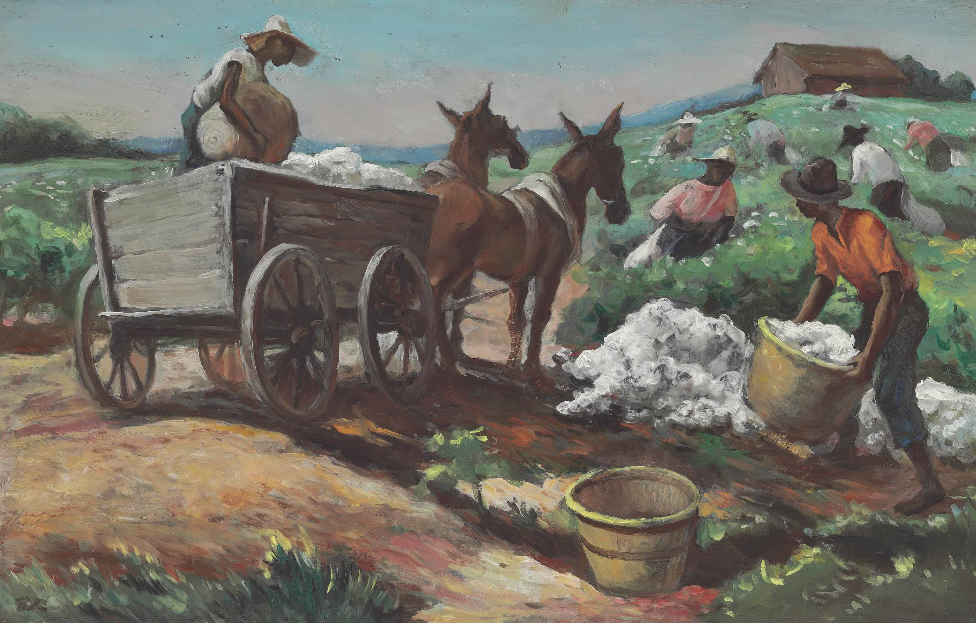 Cotton Picking and Loading