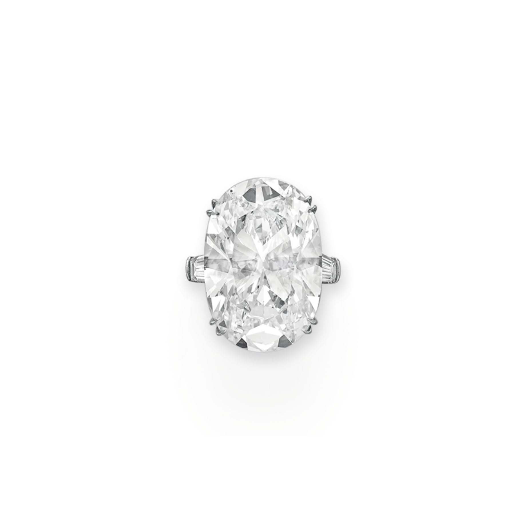 A MAGNIFICENT DIAMOND RING, BY BVLGARI