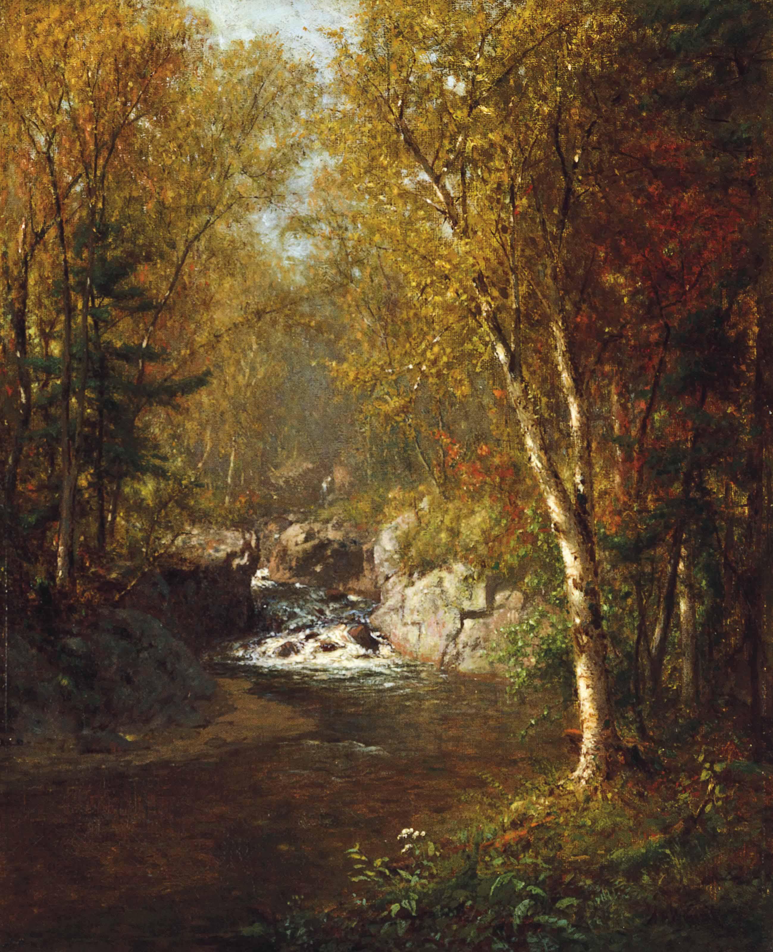 John's Brook, Keene Valley, Adirondack Mountains
