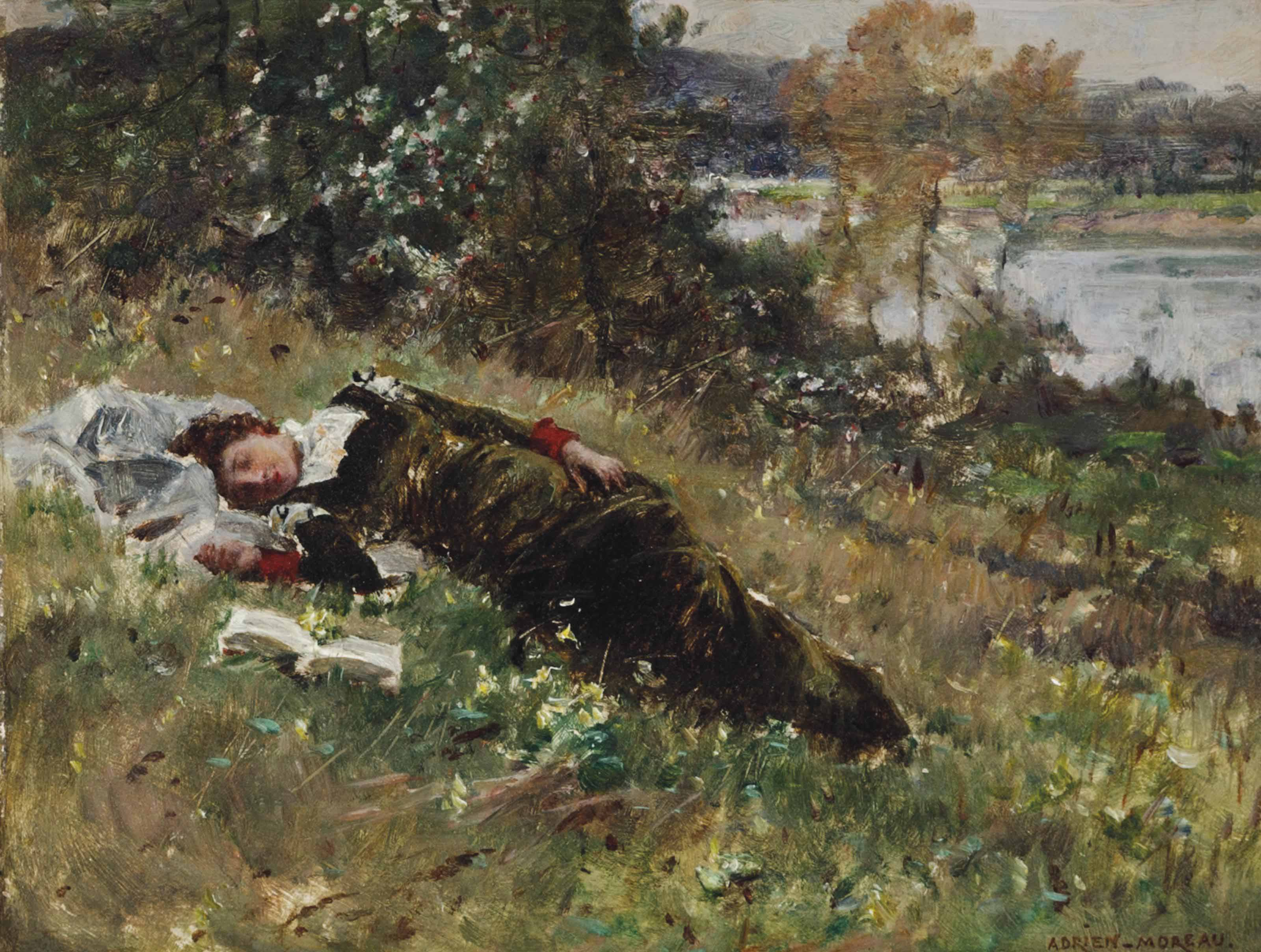 A Summer Afternoon by the River