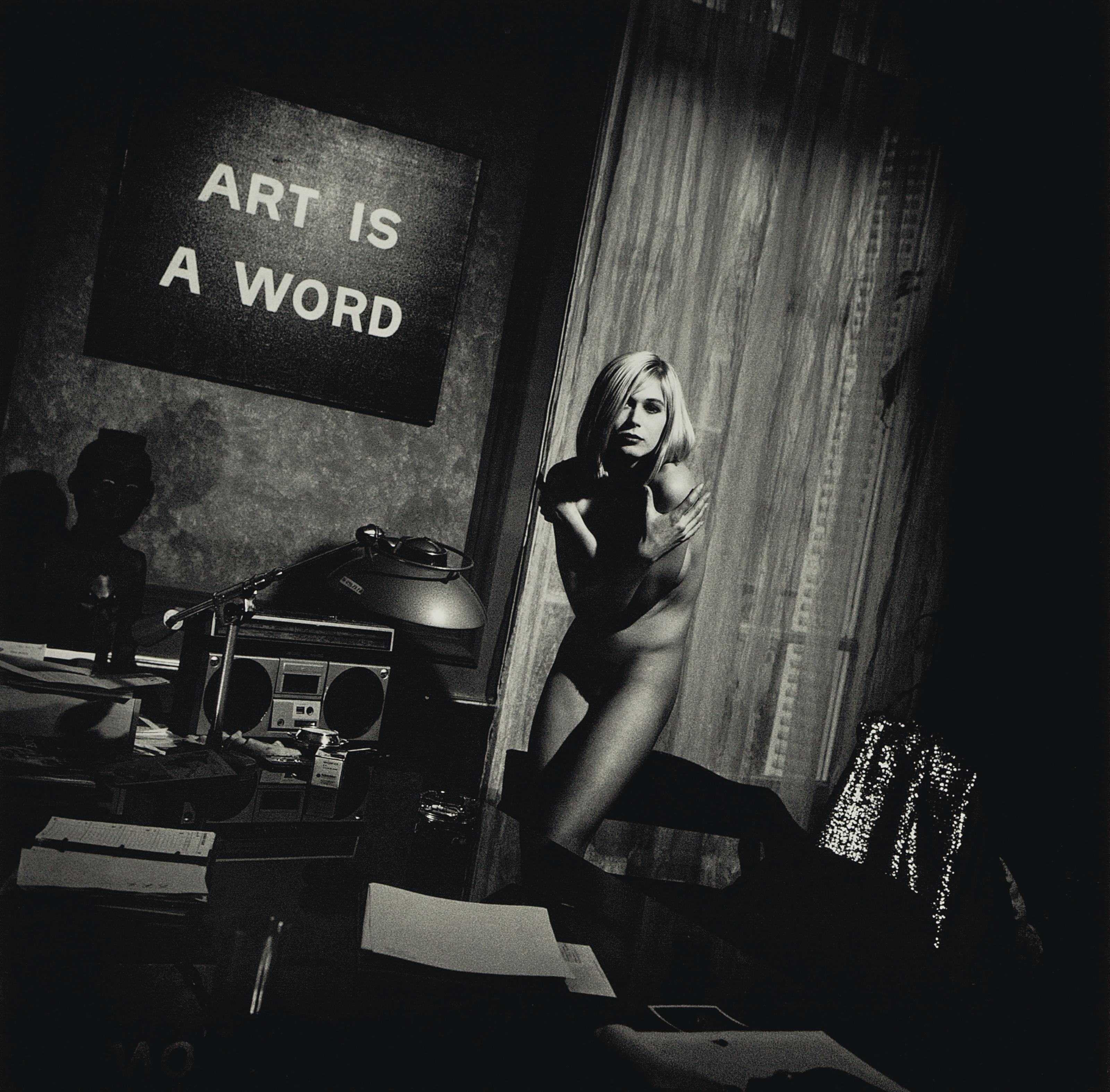 'Art is a Word', Paris, November 1988