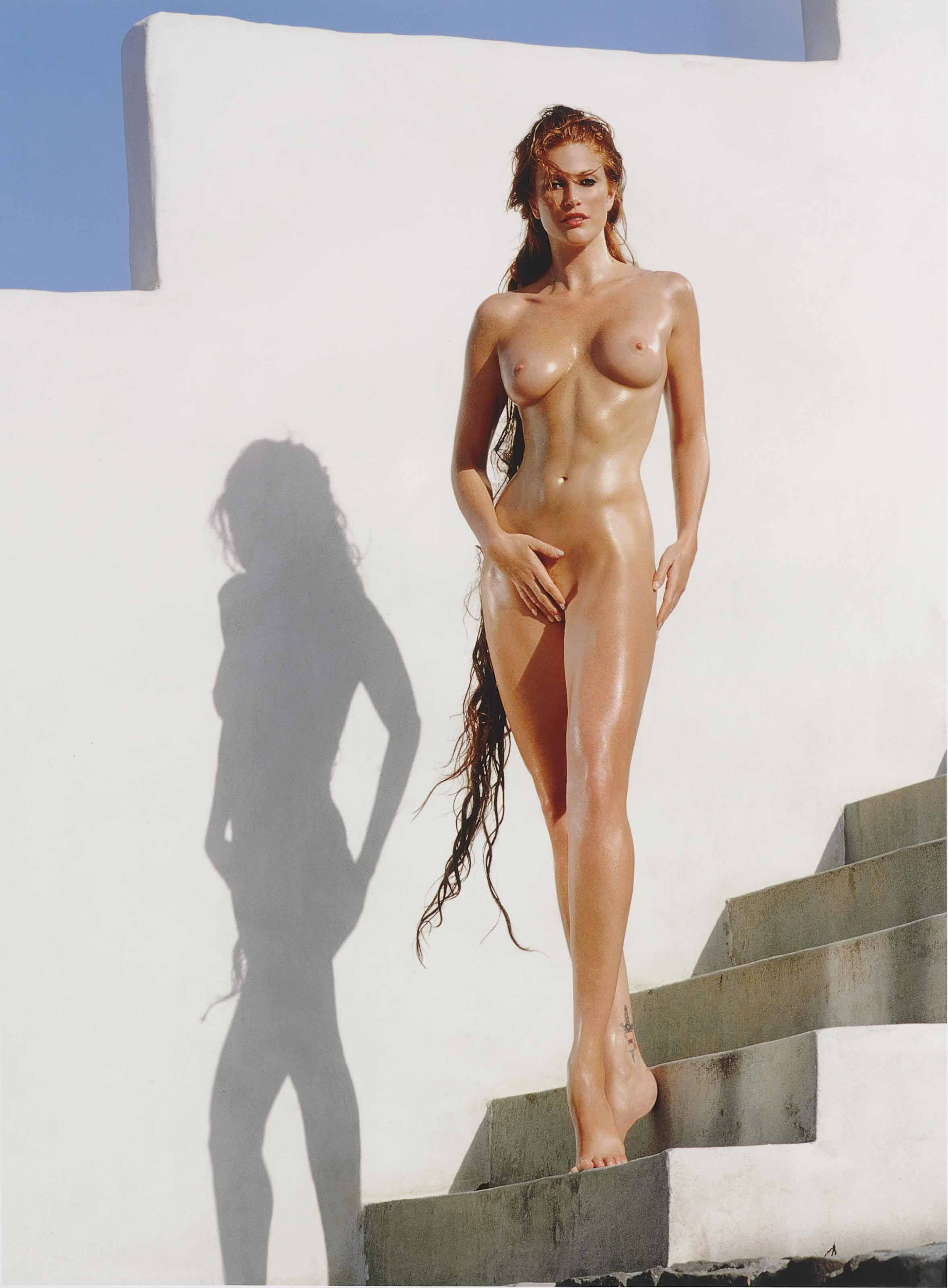 Angie Everhart for 'Playboy', February 2000