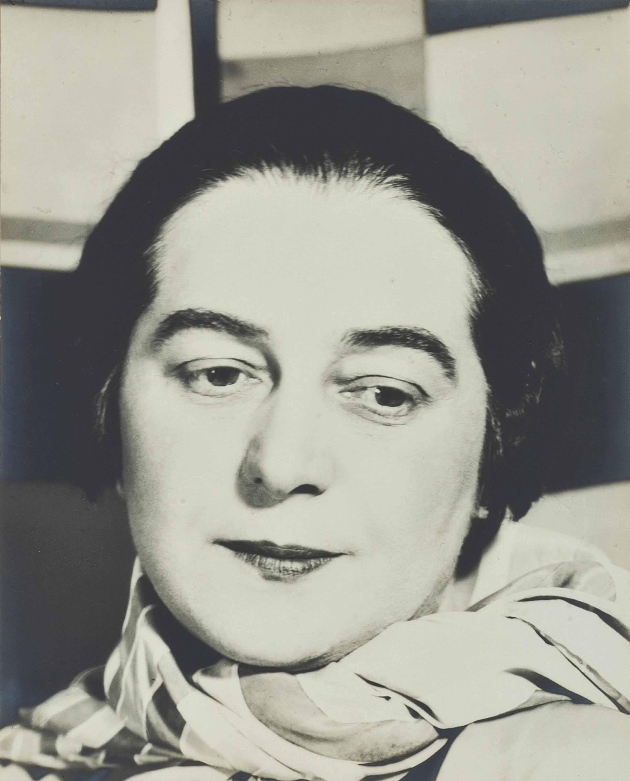 PORTRAIT OF SONIA DELAUNAY, PARIS, 1931