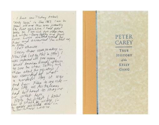 CAREY, Peter (b. 1943). True H