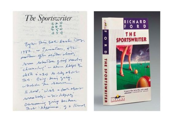 FORD, Richard (b. 1944). The S