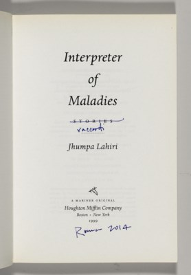 ?interpreter of maladies by jhumpa lahiri essay Poor communication and unexpressed feelings cause distress for characters in the stories' discus in jhumpa lahiri's collection of short stories 'interpreter of maladies', poor communication and suppressed feelings result in distress for characters.