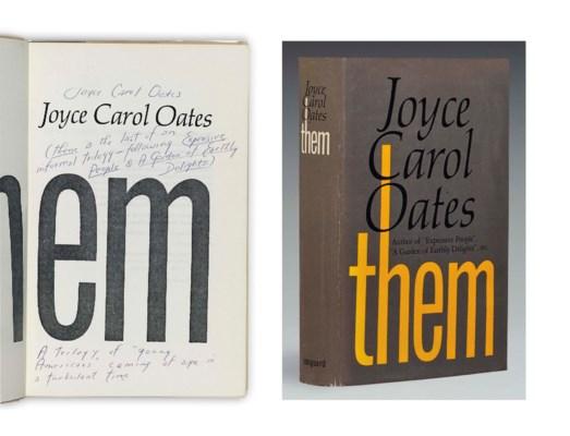 OATES, Joyce Carol (b. 1938).