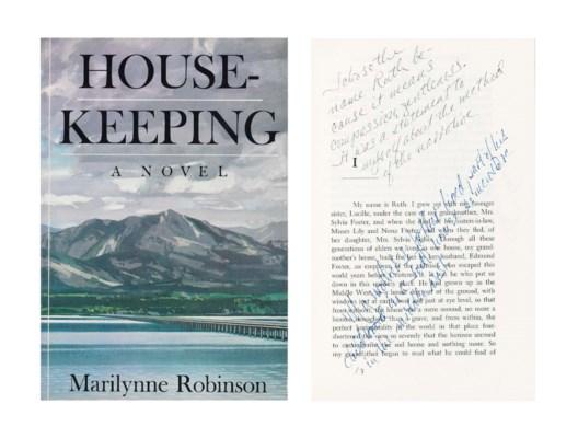 ROBINSON, Marilyn (b. 1943). H
