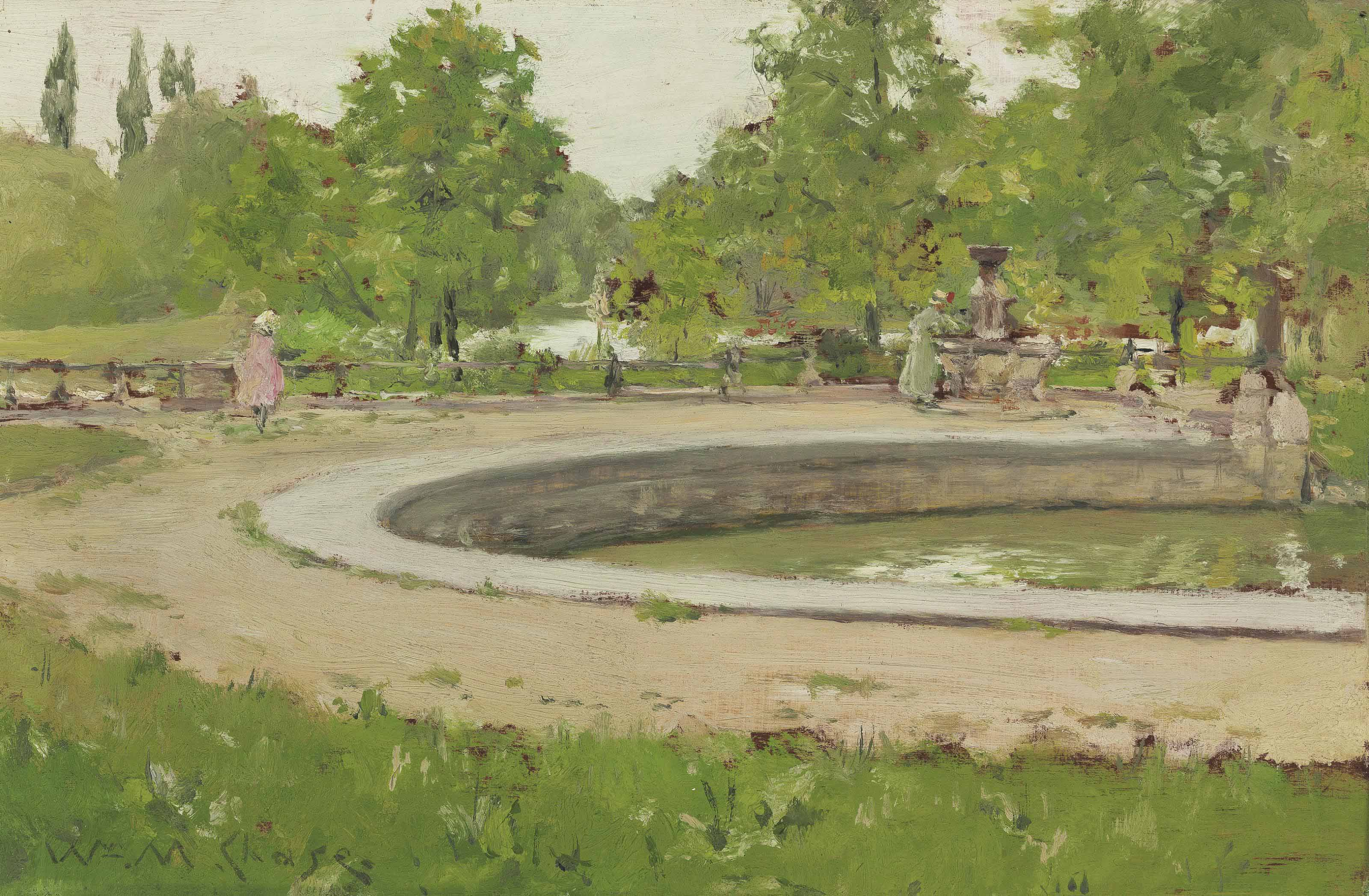 A Water Fountain in Prospect Park