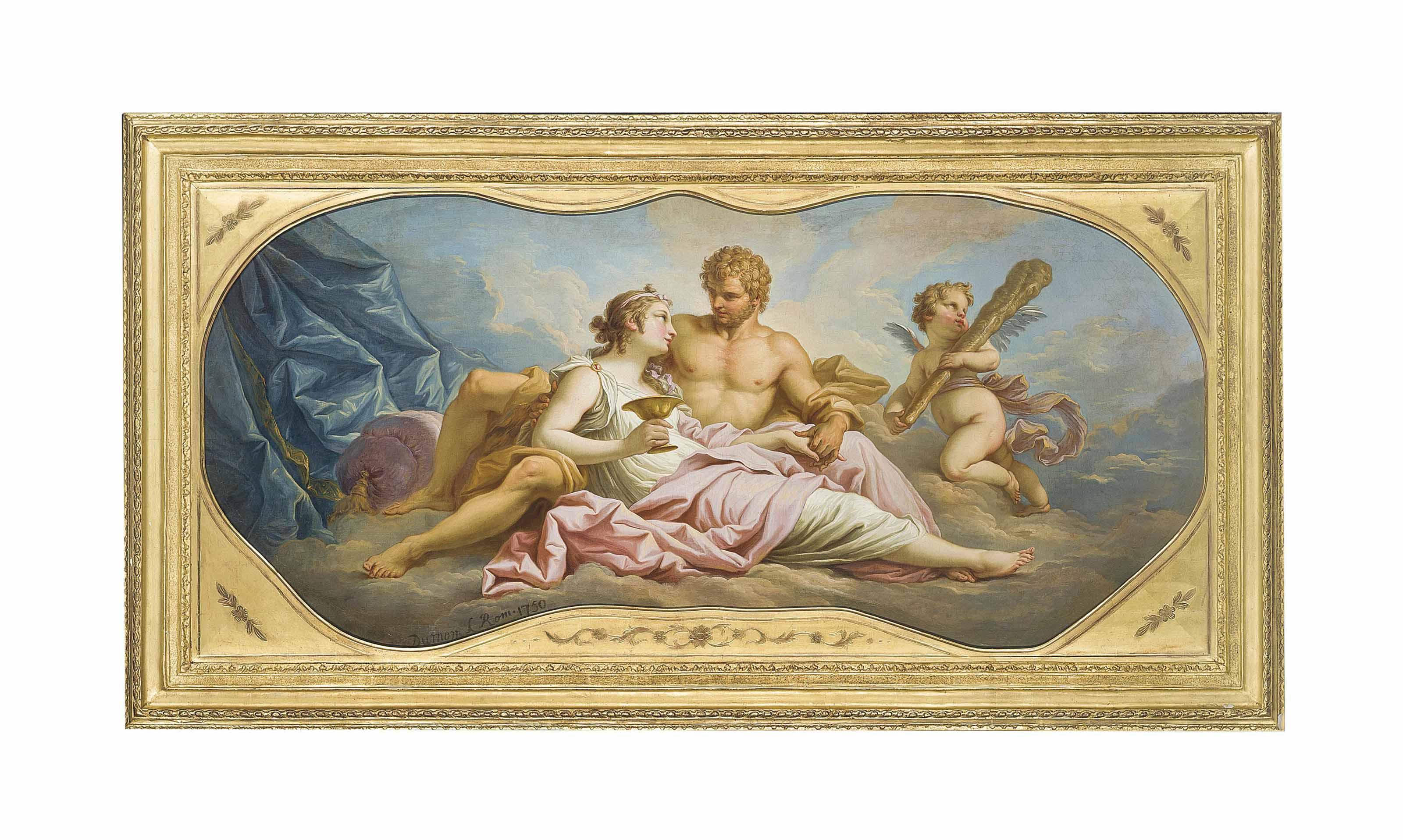 Hercule et Omphale