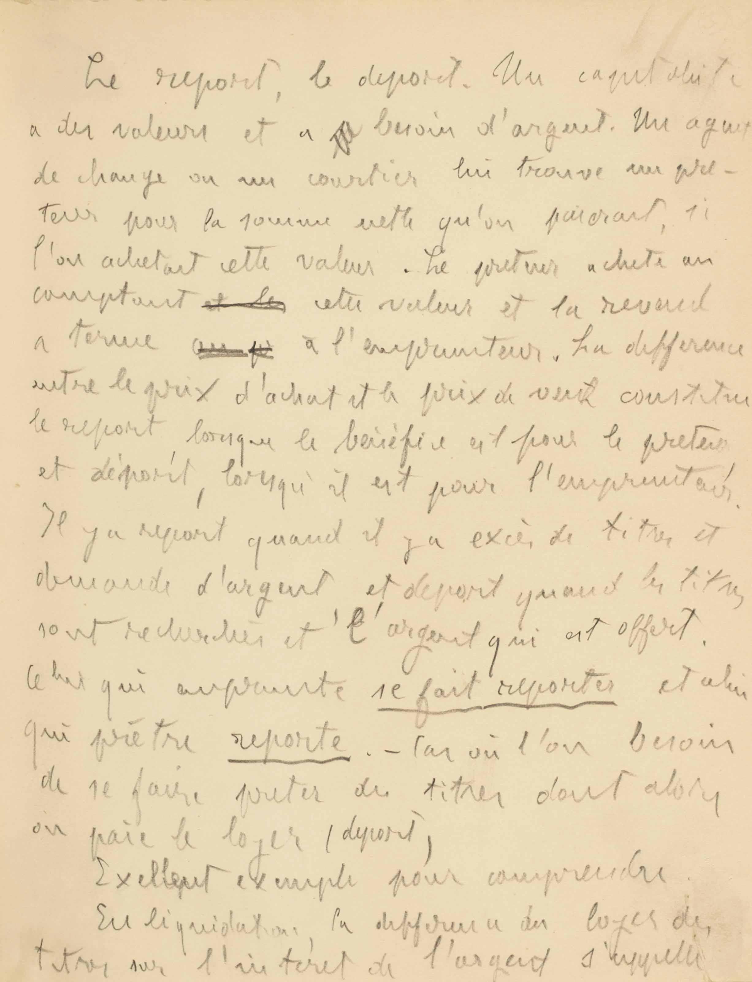 ZOLA, Émile (1840-1902). L'Argent. Brouillons et notes autographes, 18 feuillets in-8 (200 x 155 mm) rédigés au crayon au recto, montés aux coins et insérés dans un album petit in-4 (222 x 178 mm), maroquin brun.