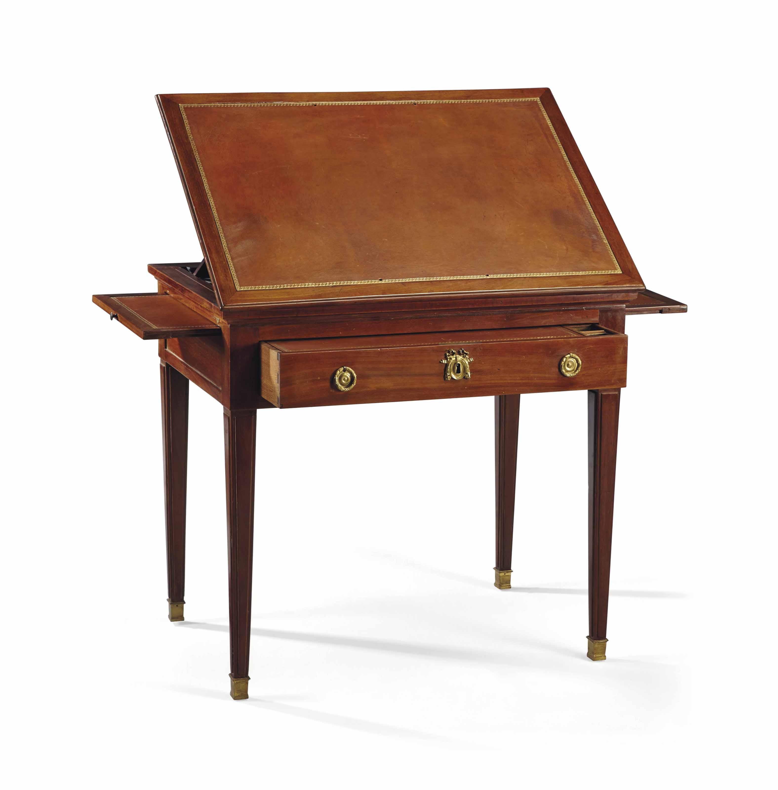 TABLE D'ARCHITECTE D'EPOQUE LOUIS XVI