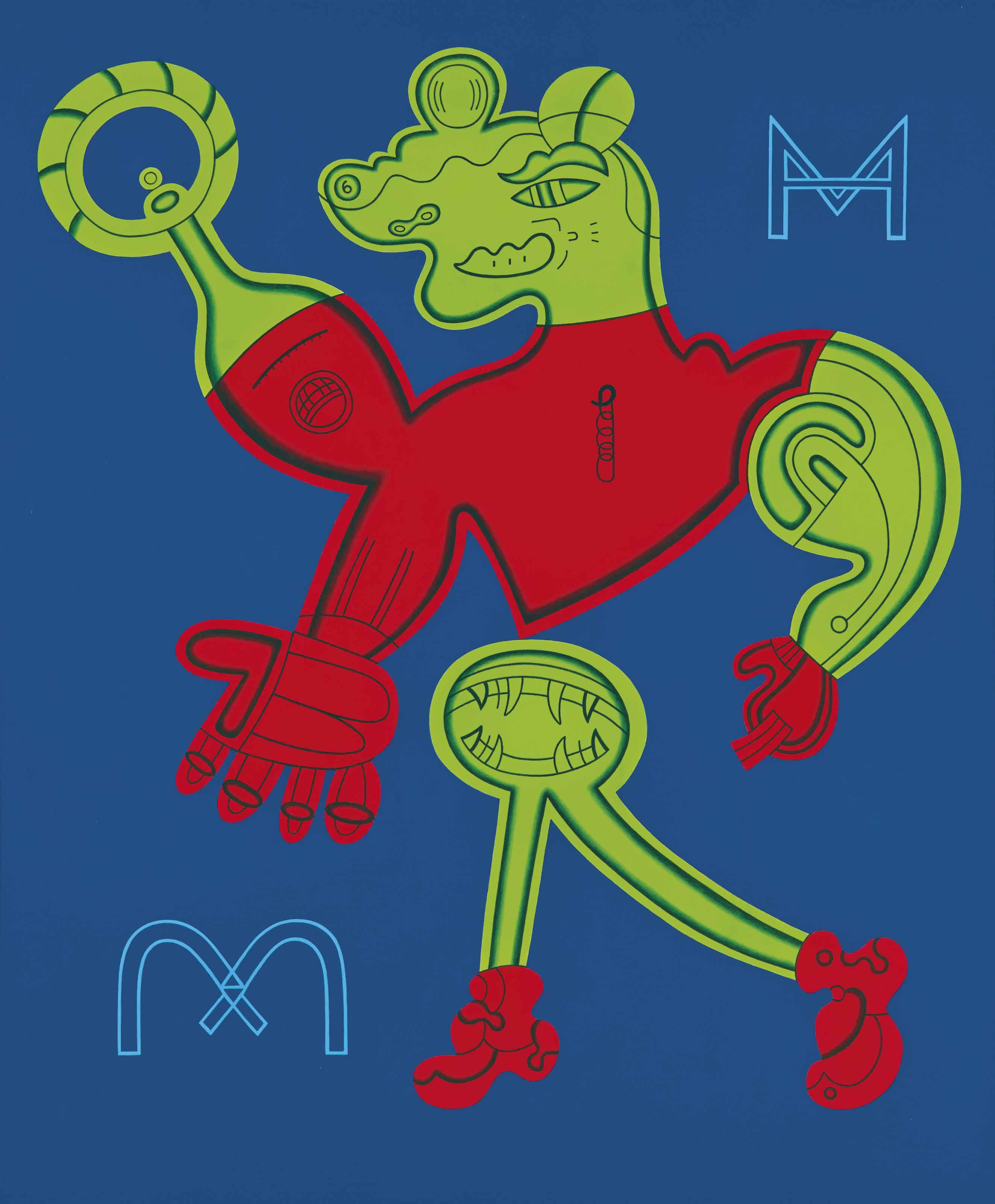 M and mmmm