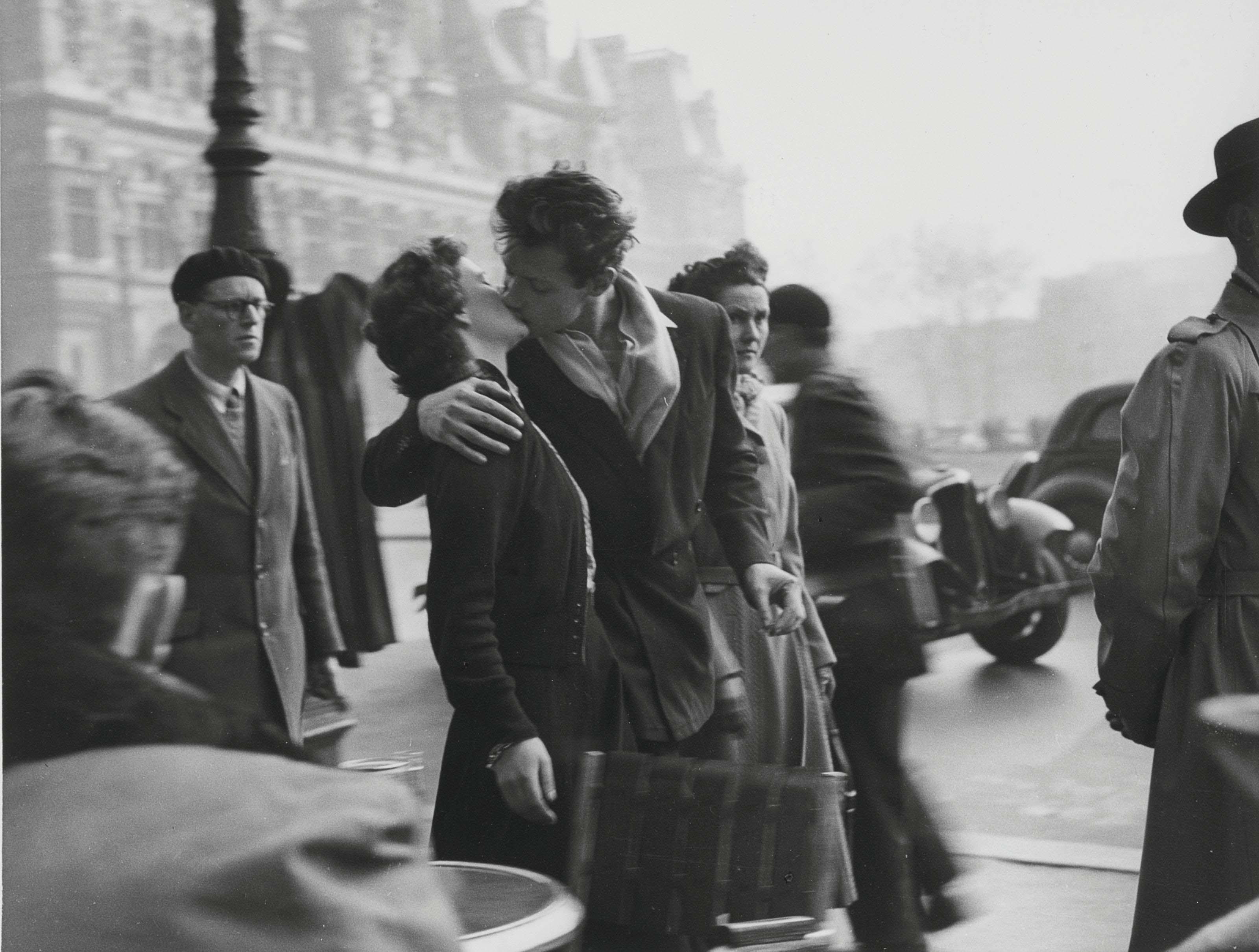 Le baiser de l'Hôtel de Ville, 1950