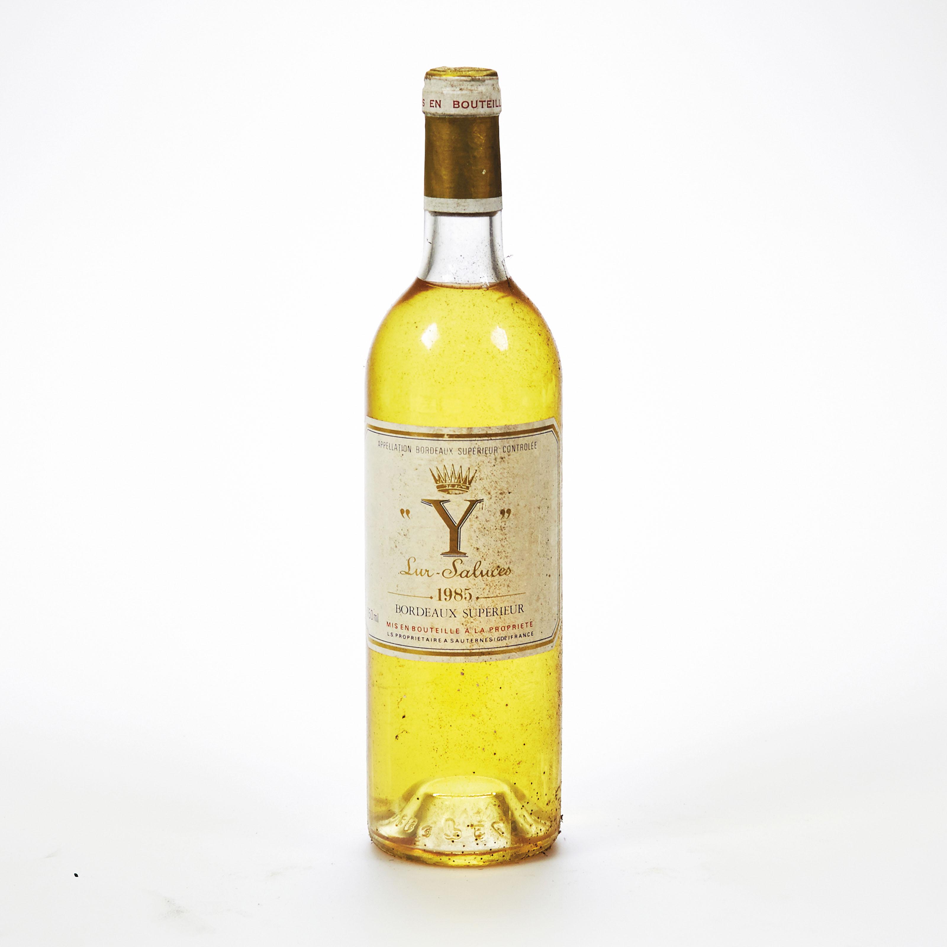 """""""Y"""" d'Yquem--Millésime/Vintage 1985"""