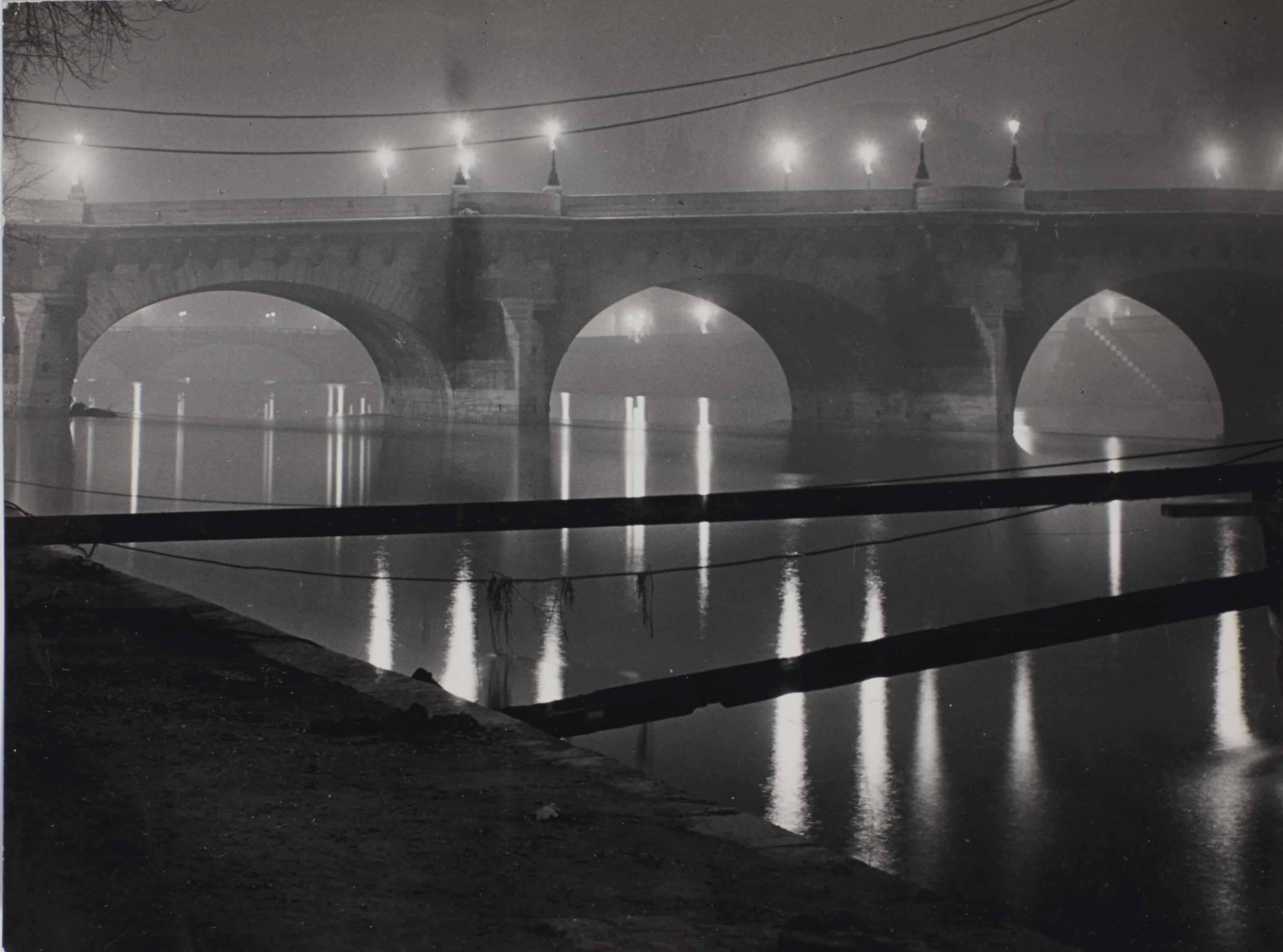 La Seine, vers 1930