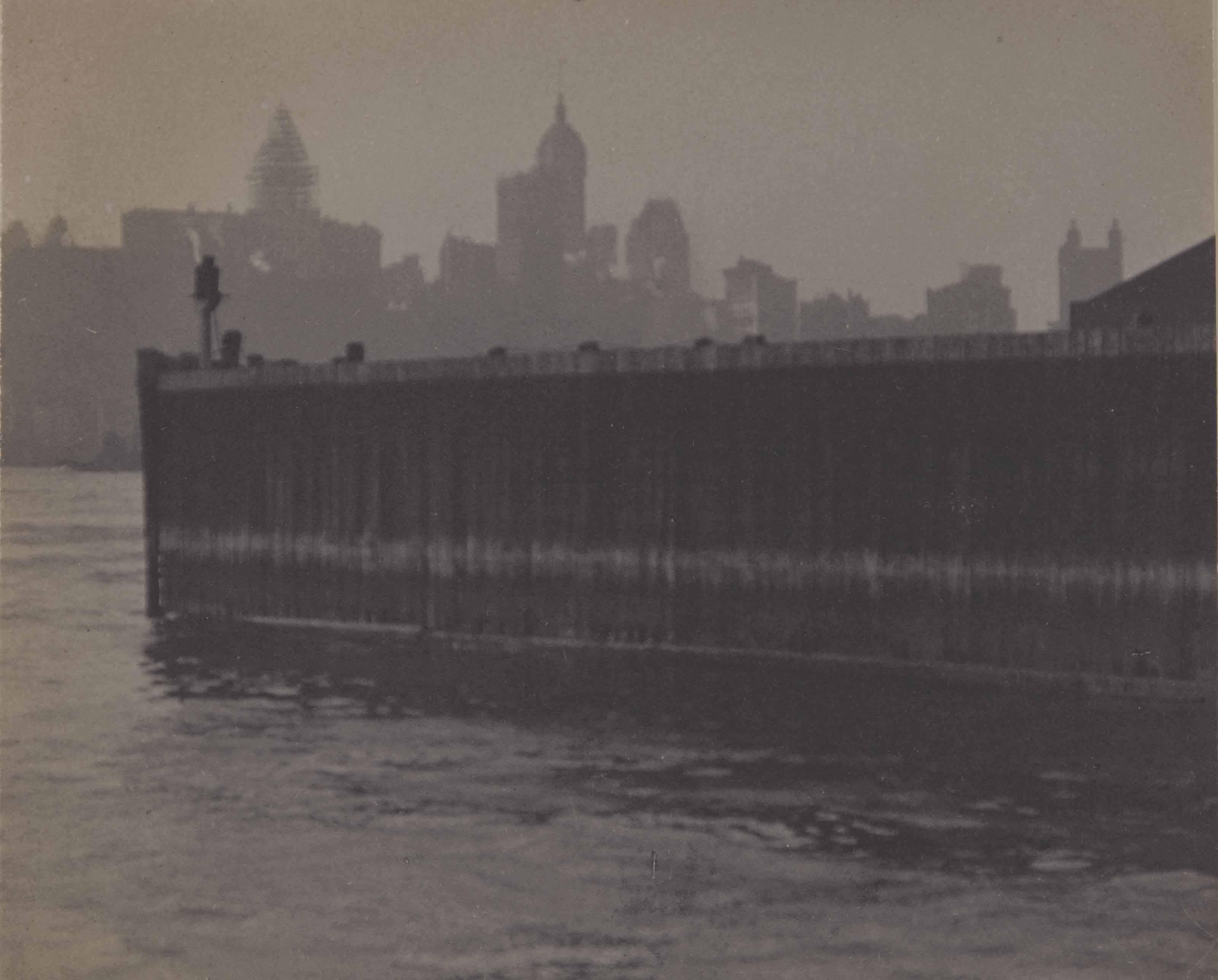 New York Harbour, 1911