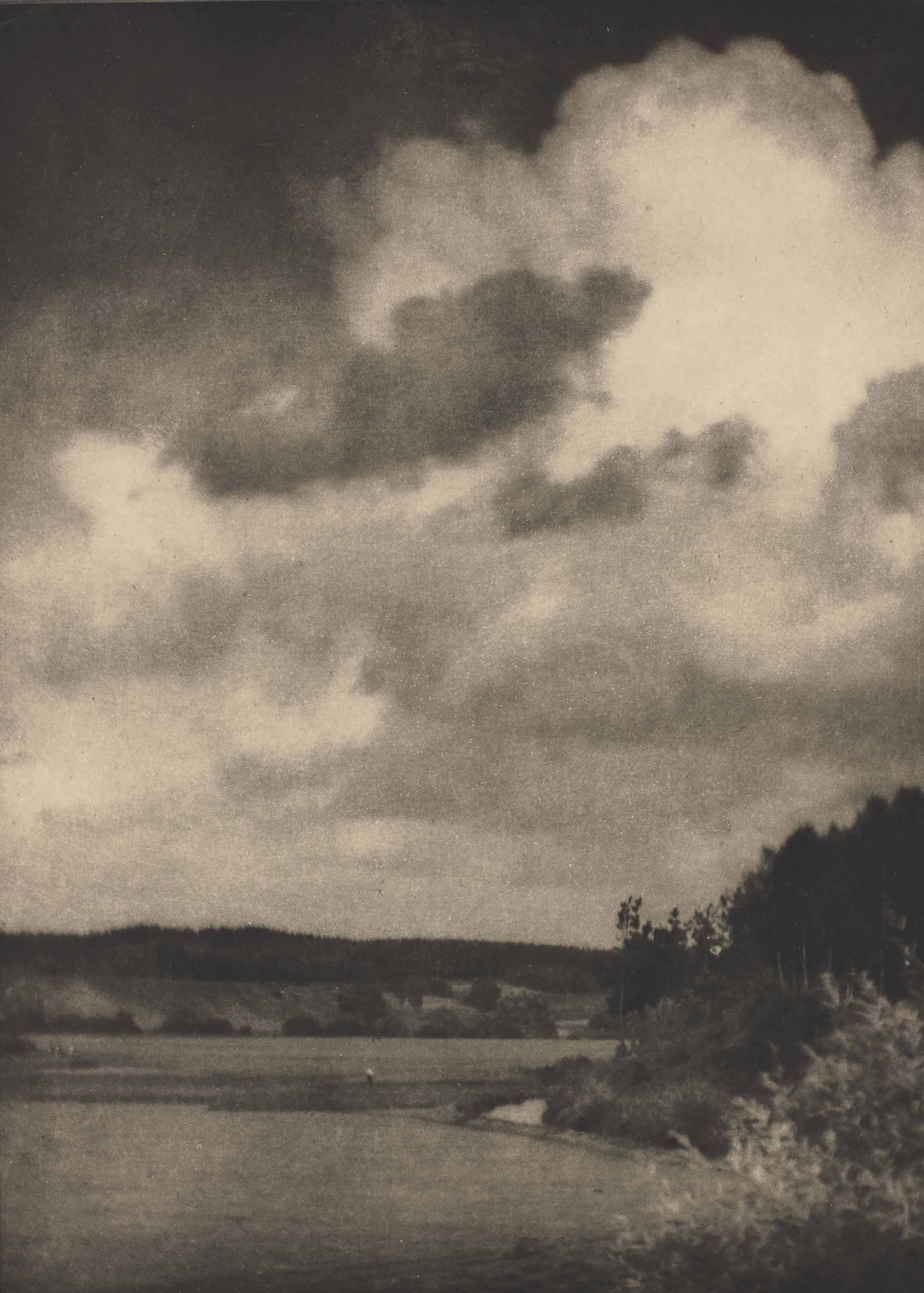 The cloud, Bavaria, vers 1909