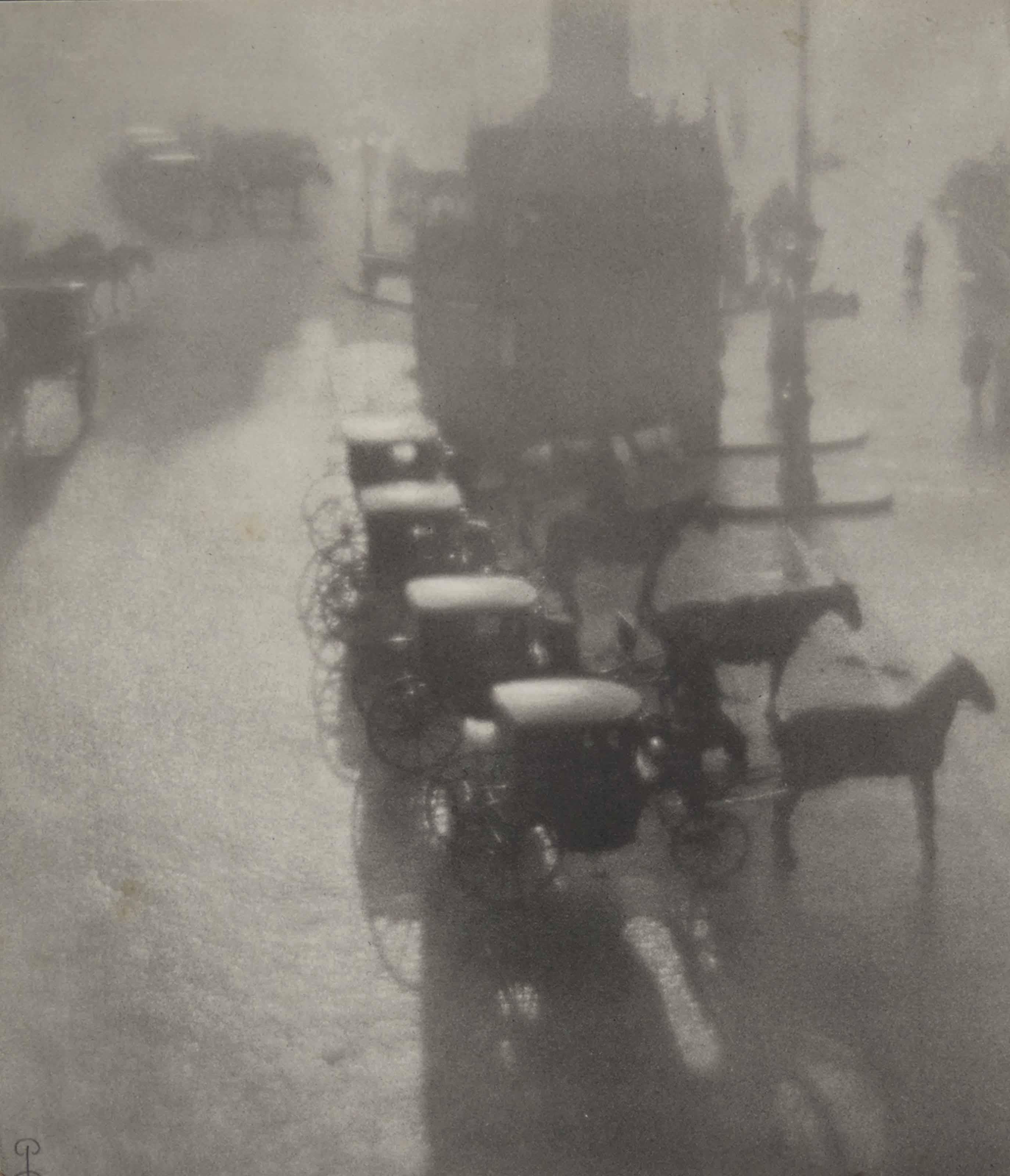 Petite place de province, Huile, 1908