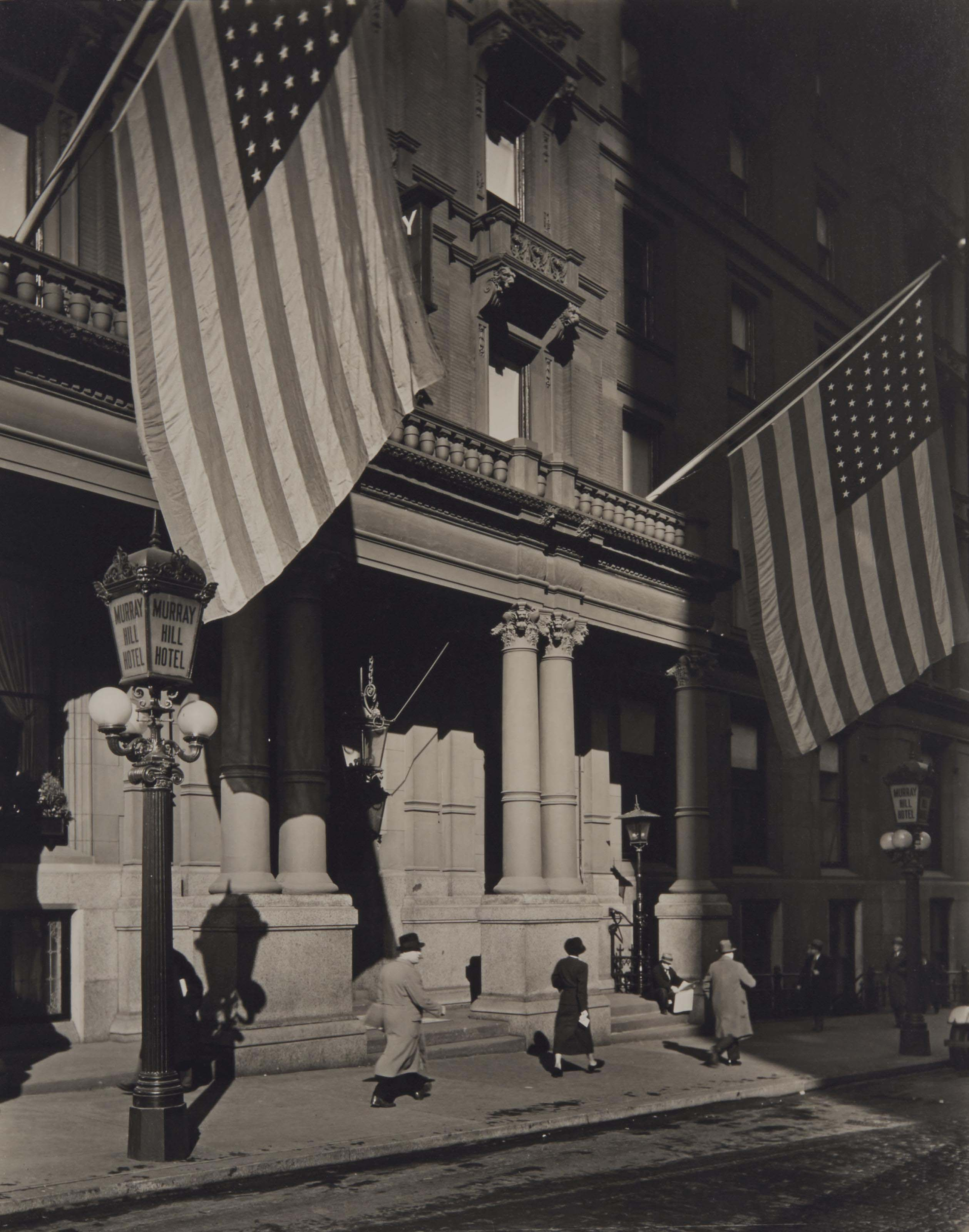 Murray Hill Hotel, 112 Park Avenue, Manhattan, 1935